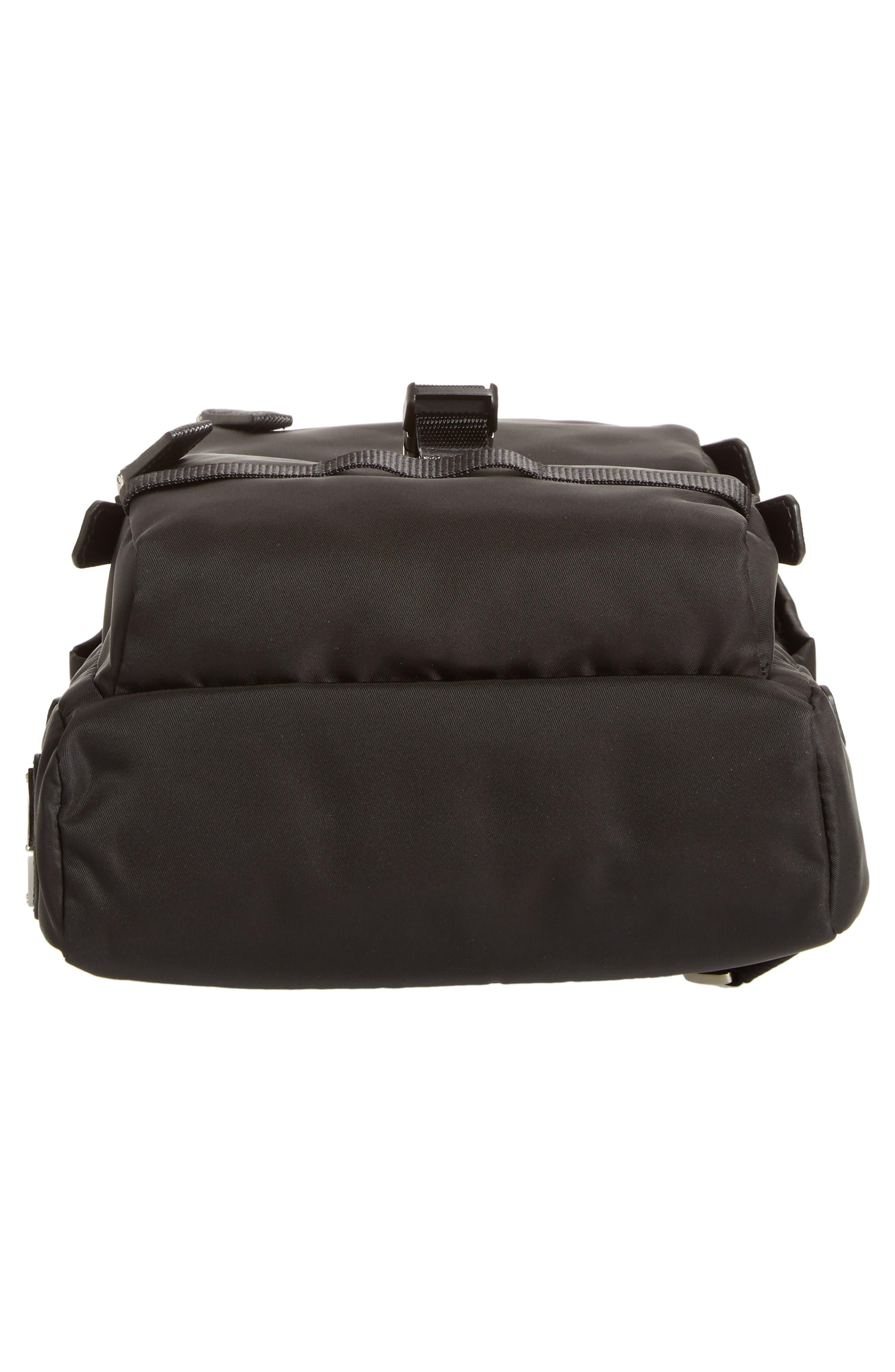 Tessuto Small Sling Bag,                             Alternate thumbnail 6, color,                             BLACK