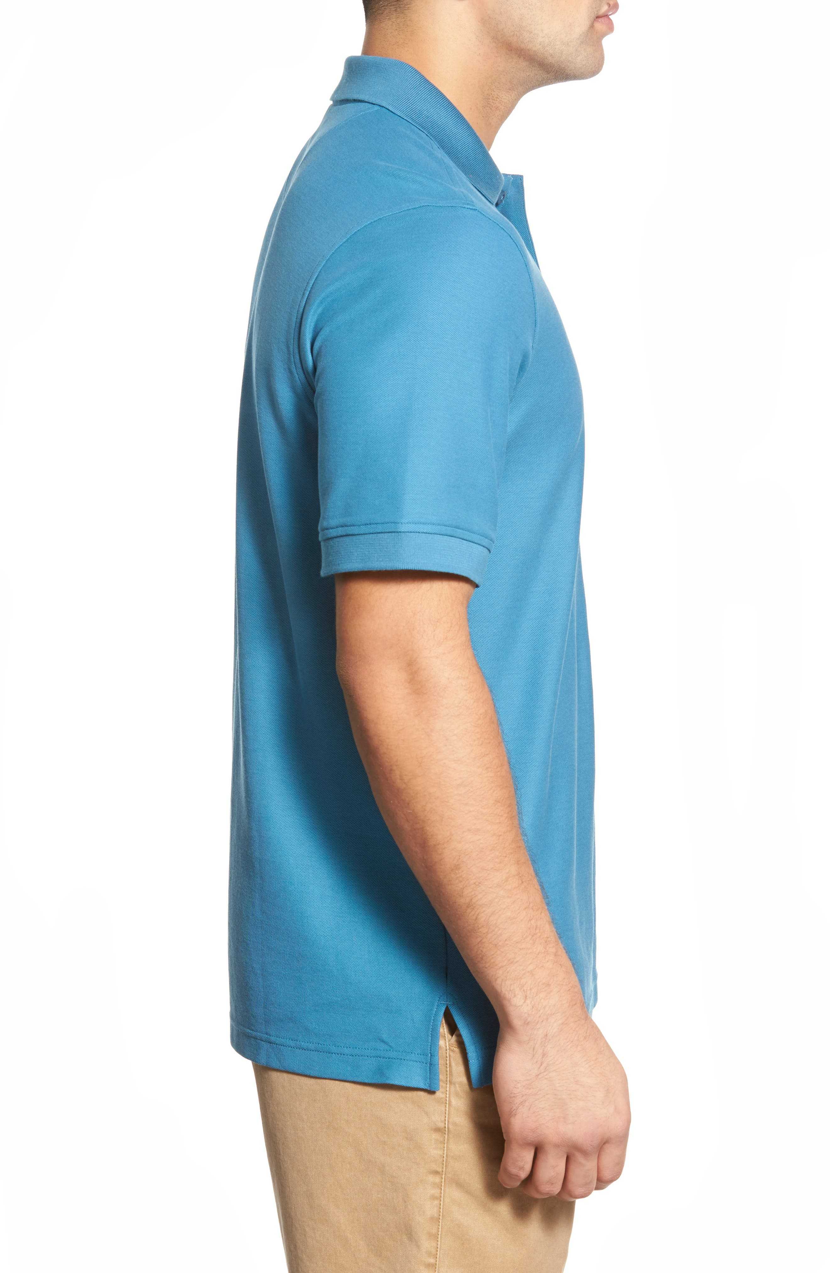 'Classic' Regular Fit Oxford Piqué Polo,                             Alternate thumbnail 2, color,                             440