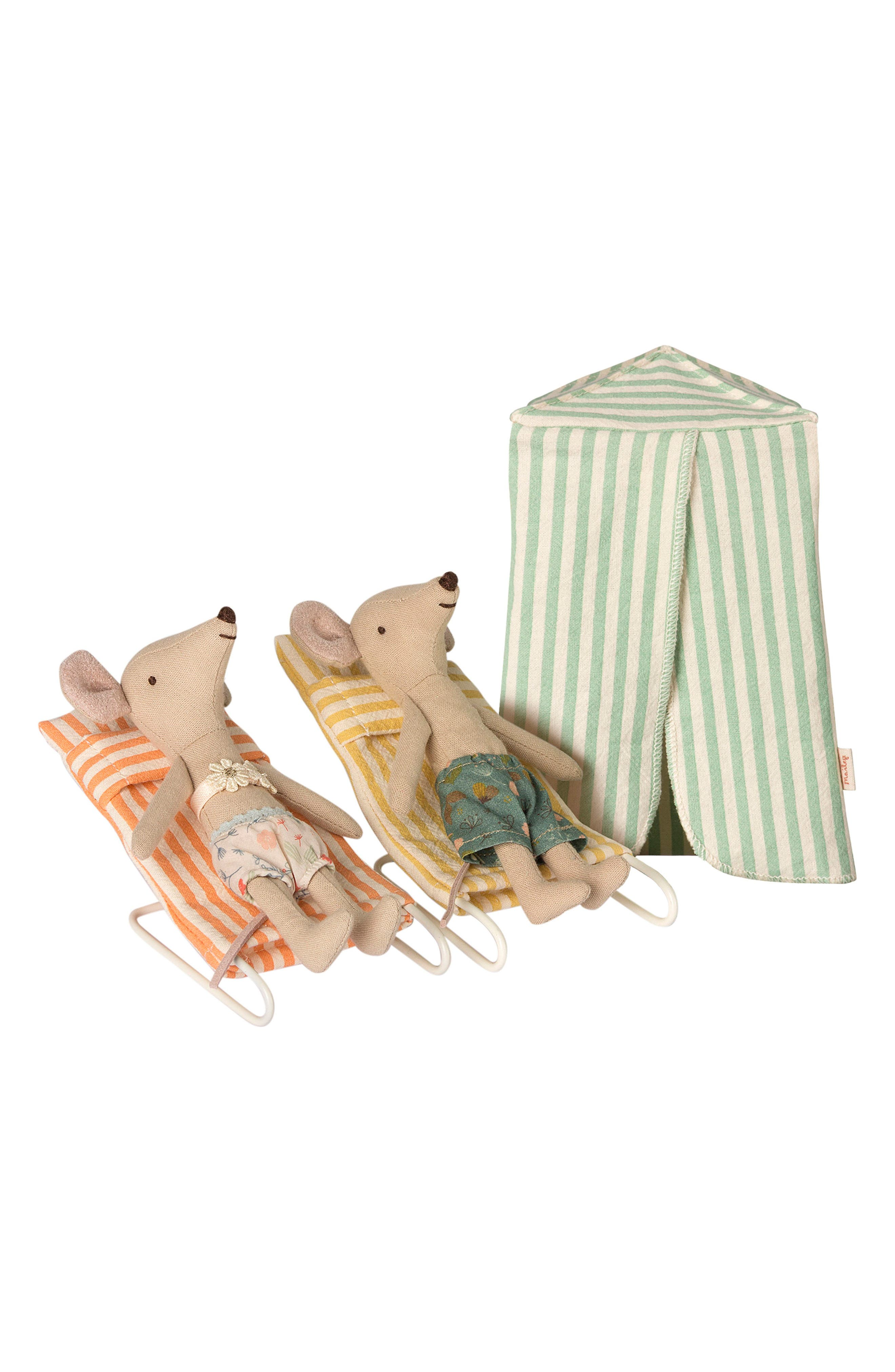 5-Piece Mouse Vacation Play Set,                         Main,                         color, MULTI COLOR STRIBET