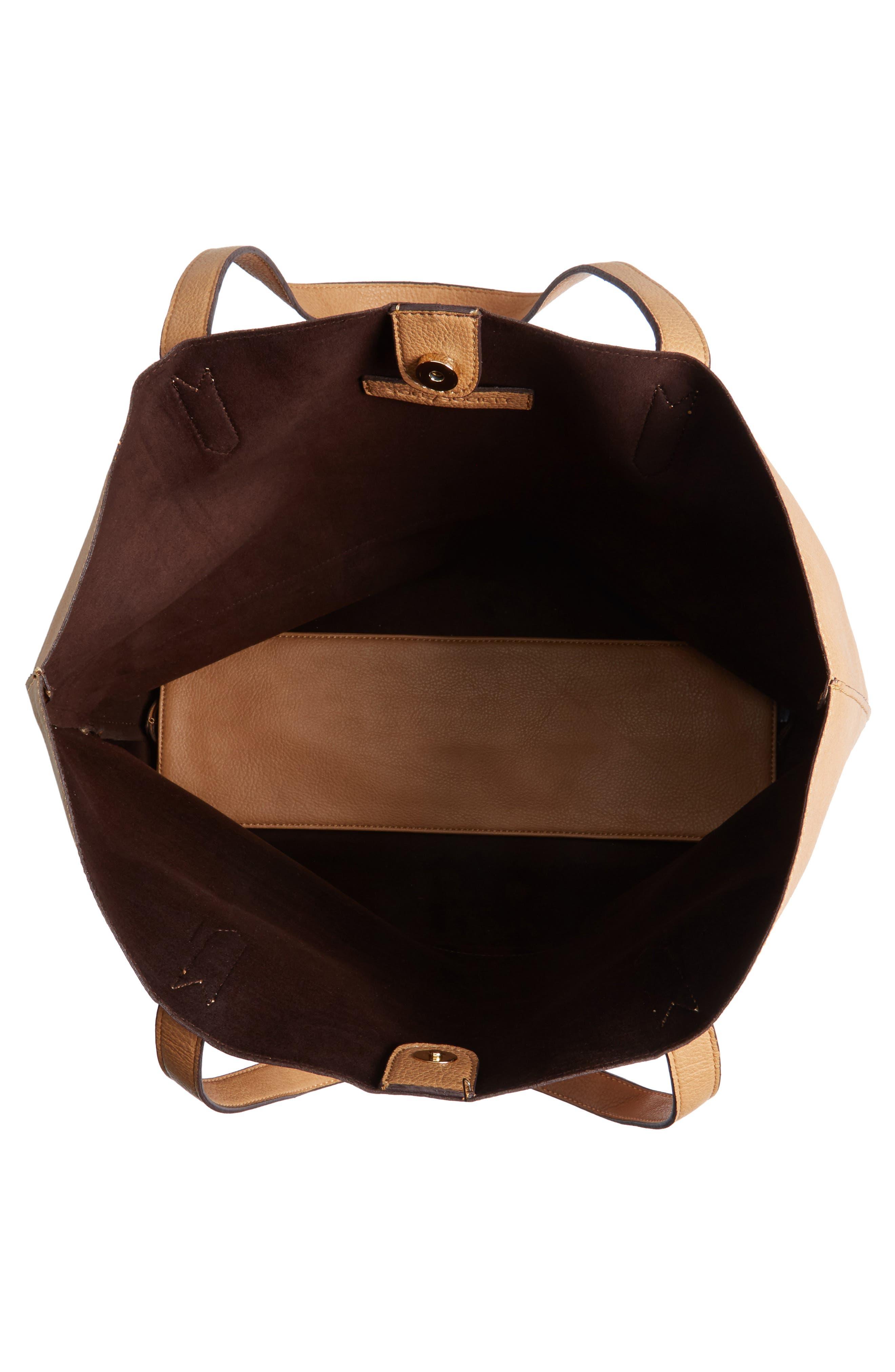 Dawson Oversize Faux Leather Shopper,                             Alternate thumbnail 24, color,
