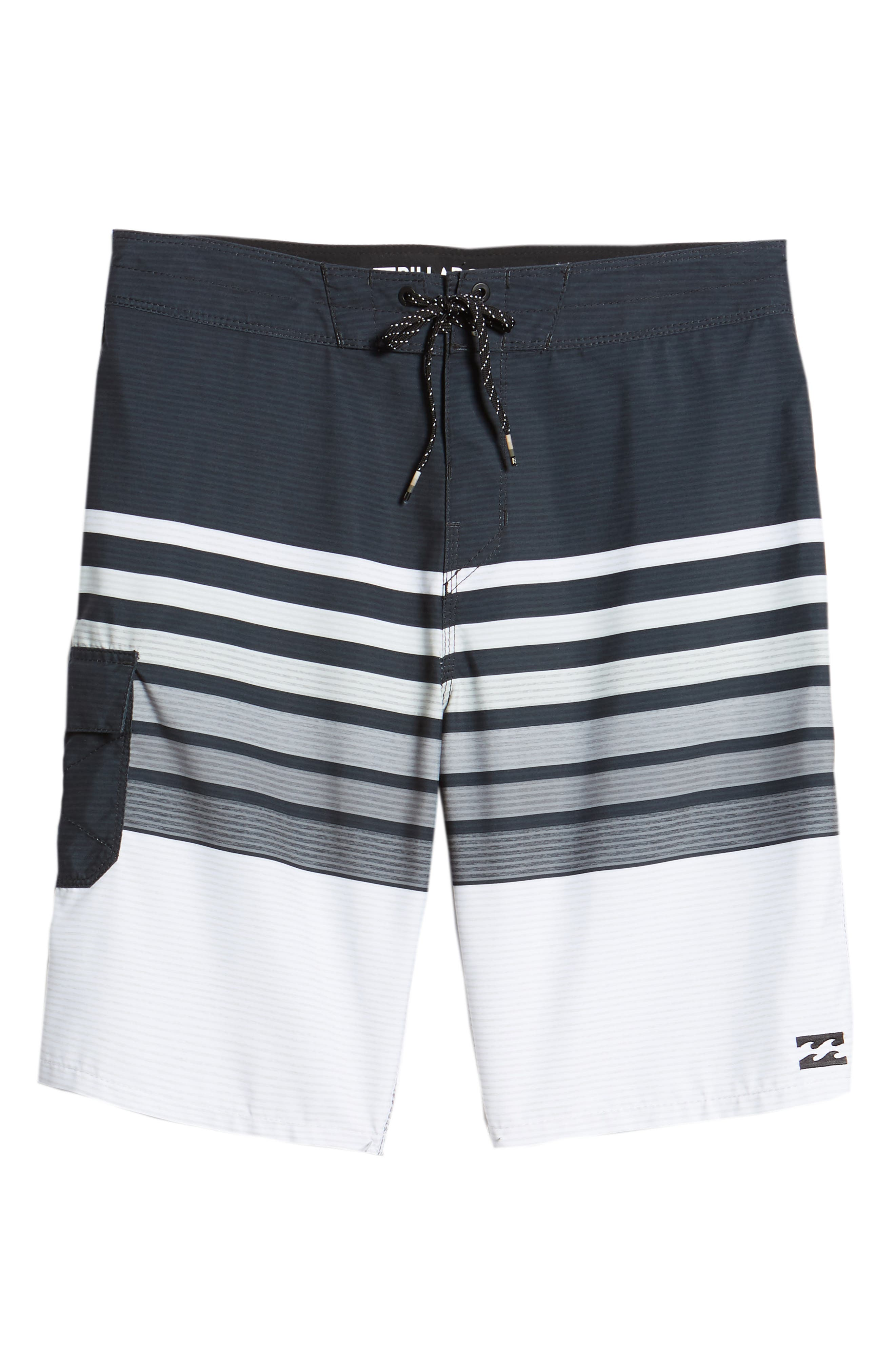 All Day OG Stripe Board Shorts,                             Alternate thumbnail 6, color,                             001