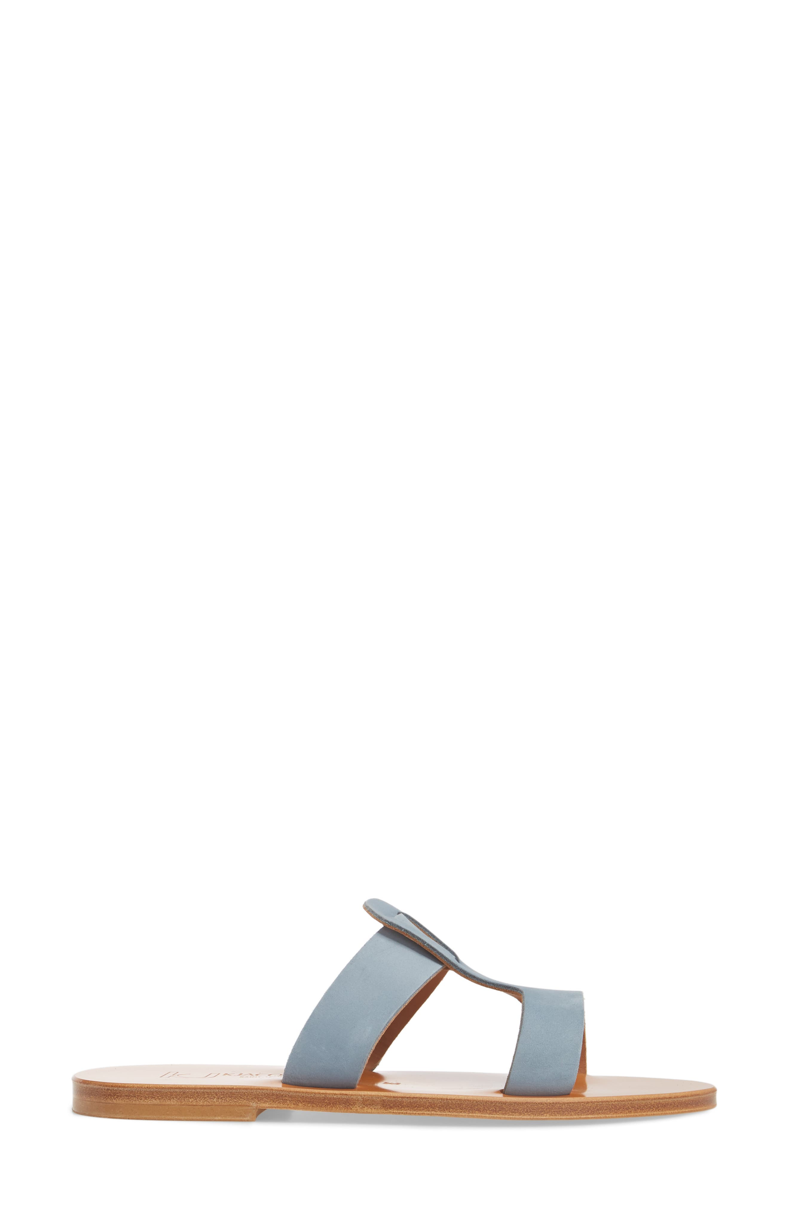 K. Jacques St. Tropez Slide Sandal,                             Alternate thumbnail 3, color,                             021