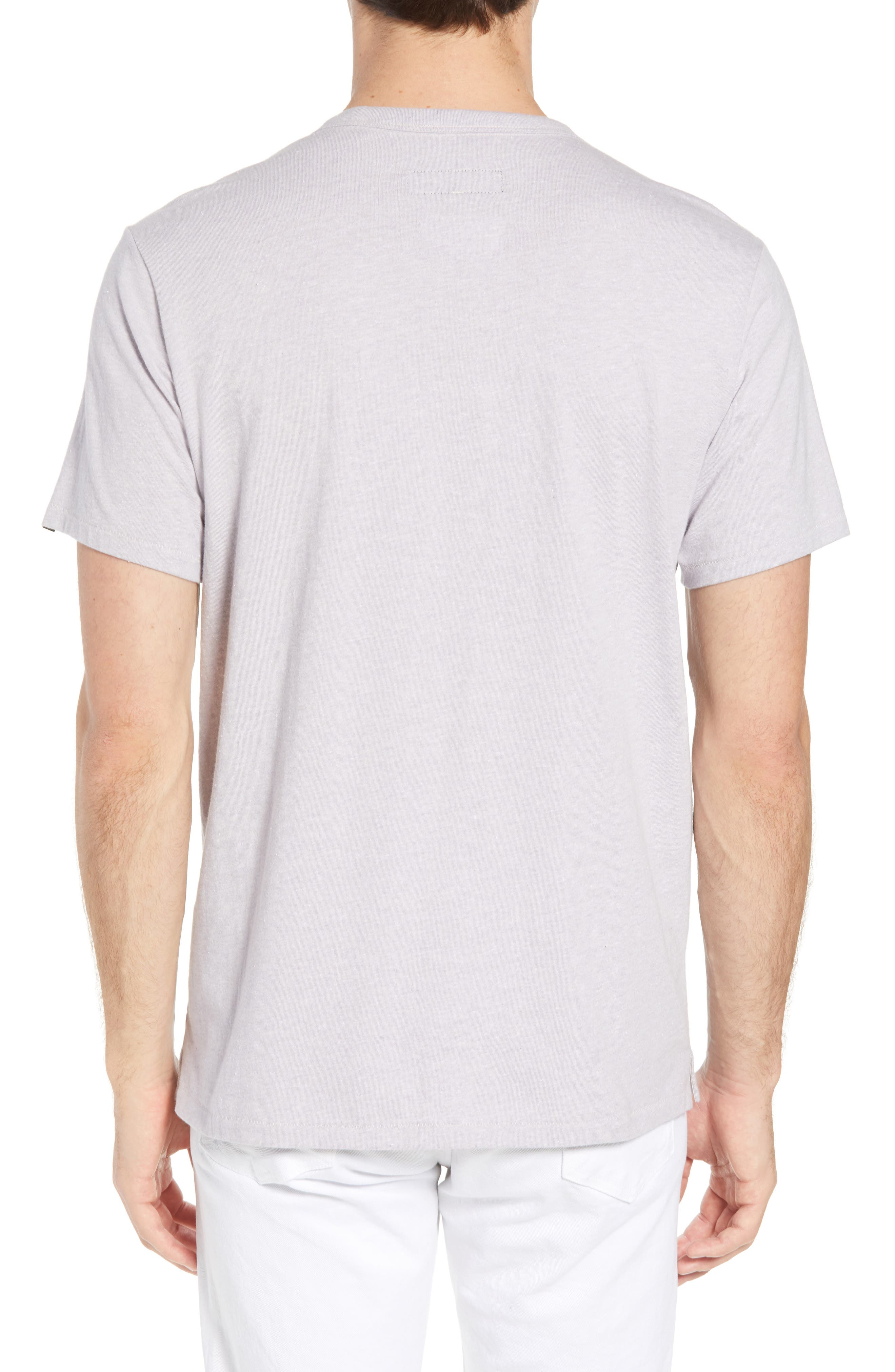 James Crewneck T-Shirt,                             Alternate thumbnail 2, color,                             525