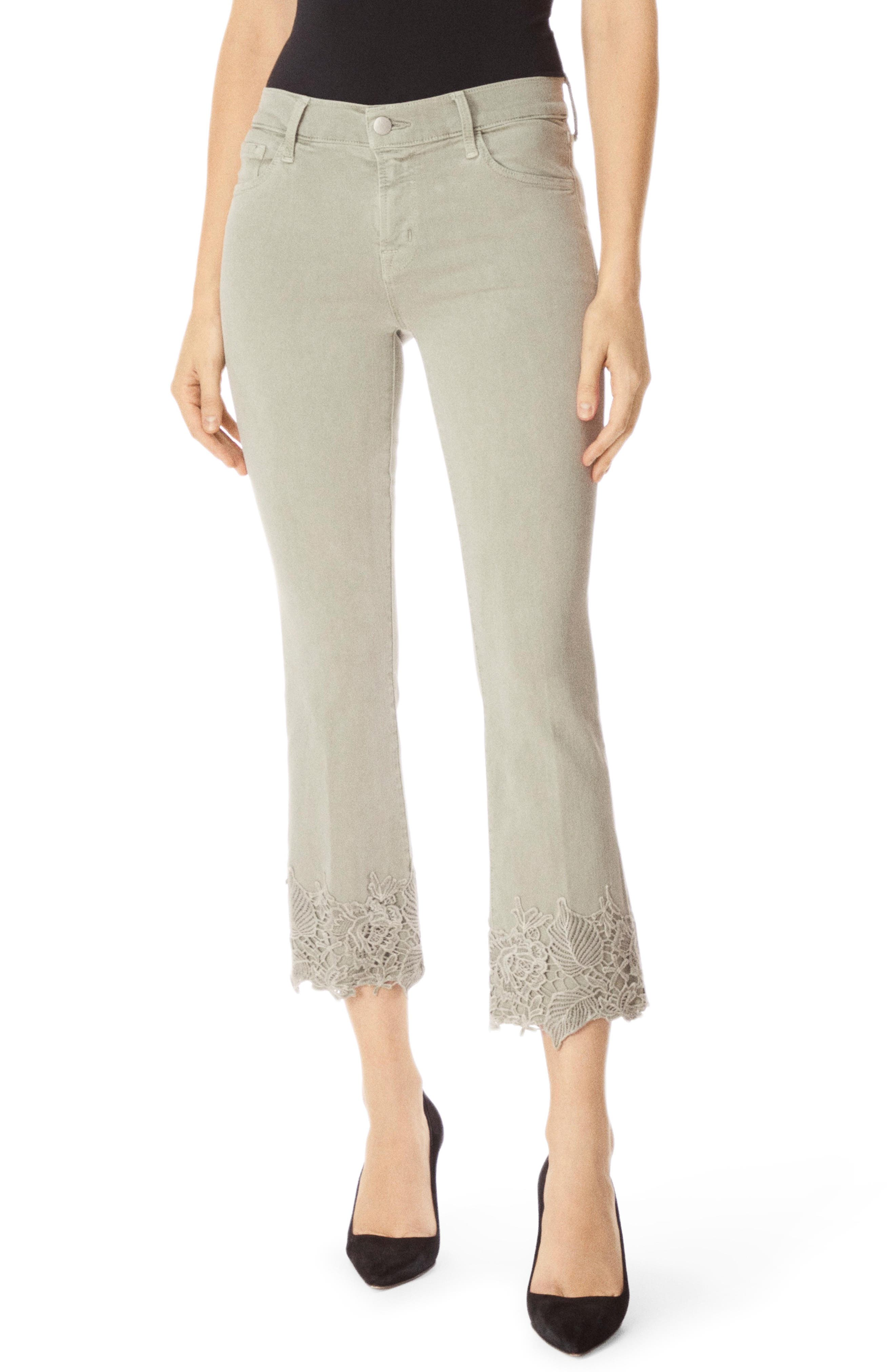 J BRAND Selena Crop Bootcut Jeans, Main, color, FADED GIBSON