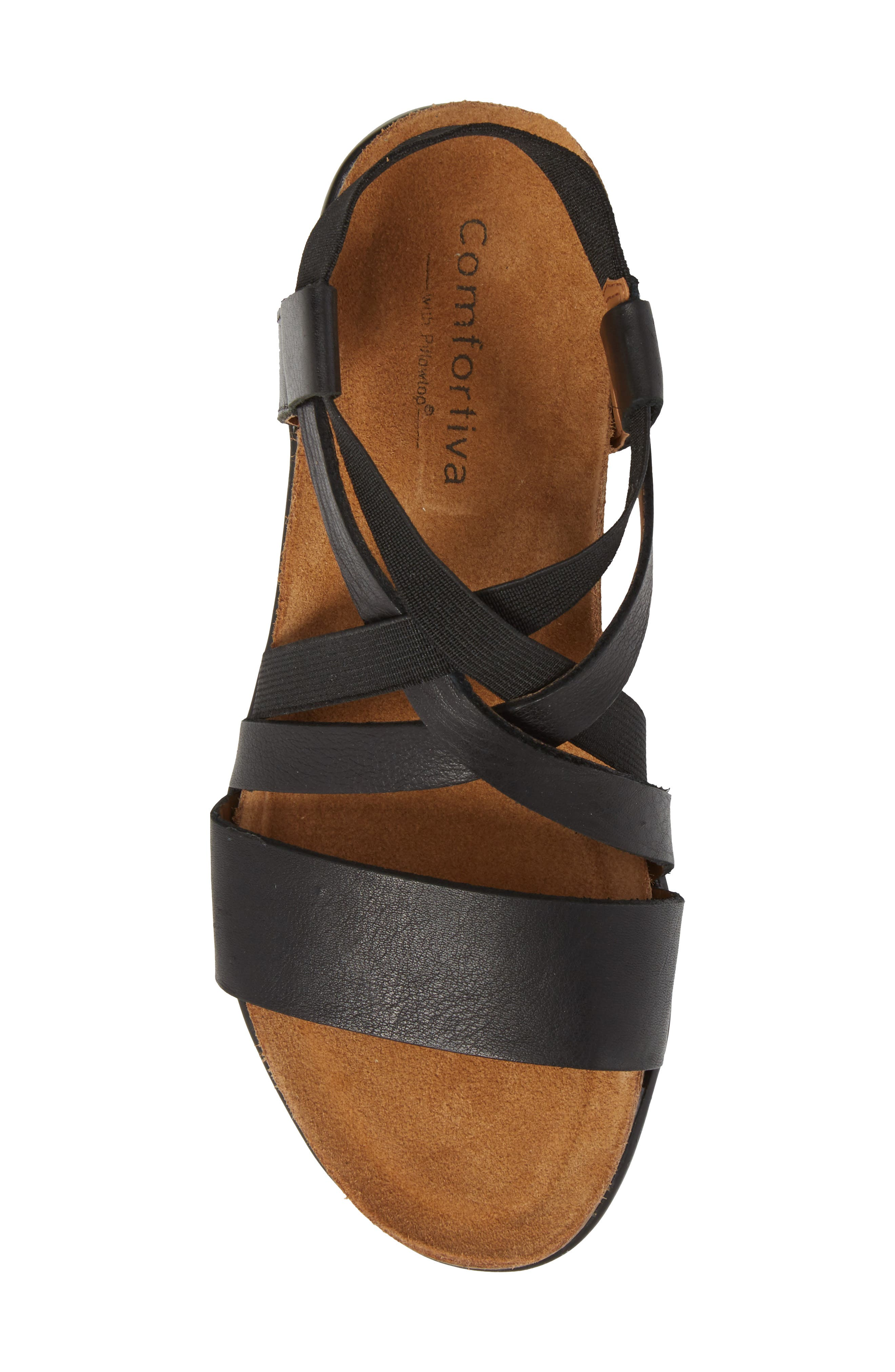 COMFORTIVA,                             Eva Sandal,                             Alternate thumbnail 5, color,                             001