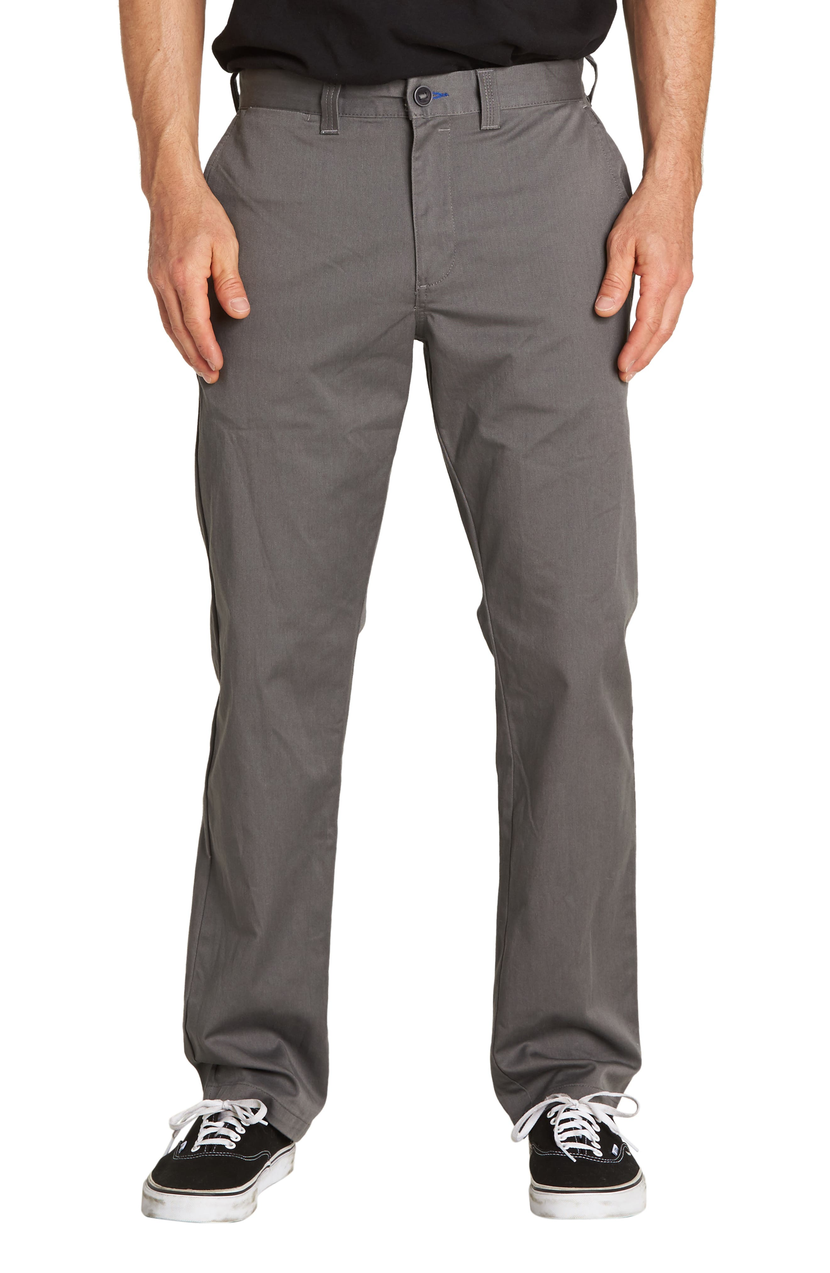 Carter Slim Stretch Chino Pants,                         Main,                         color, PEWTER