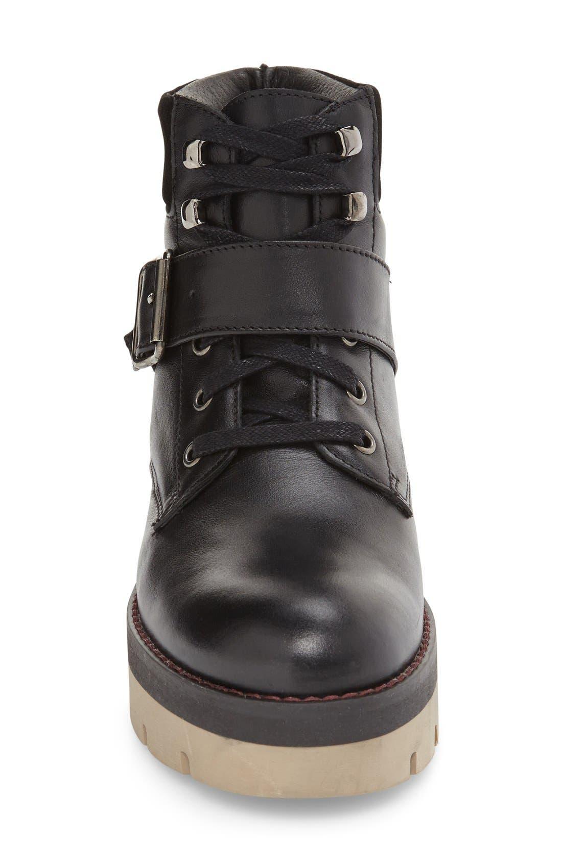 Autumn Platform Boot,                             Alternate thumbnail 3, color,                             001