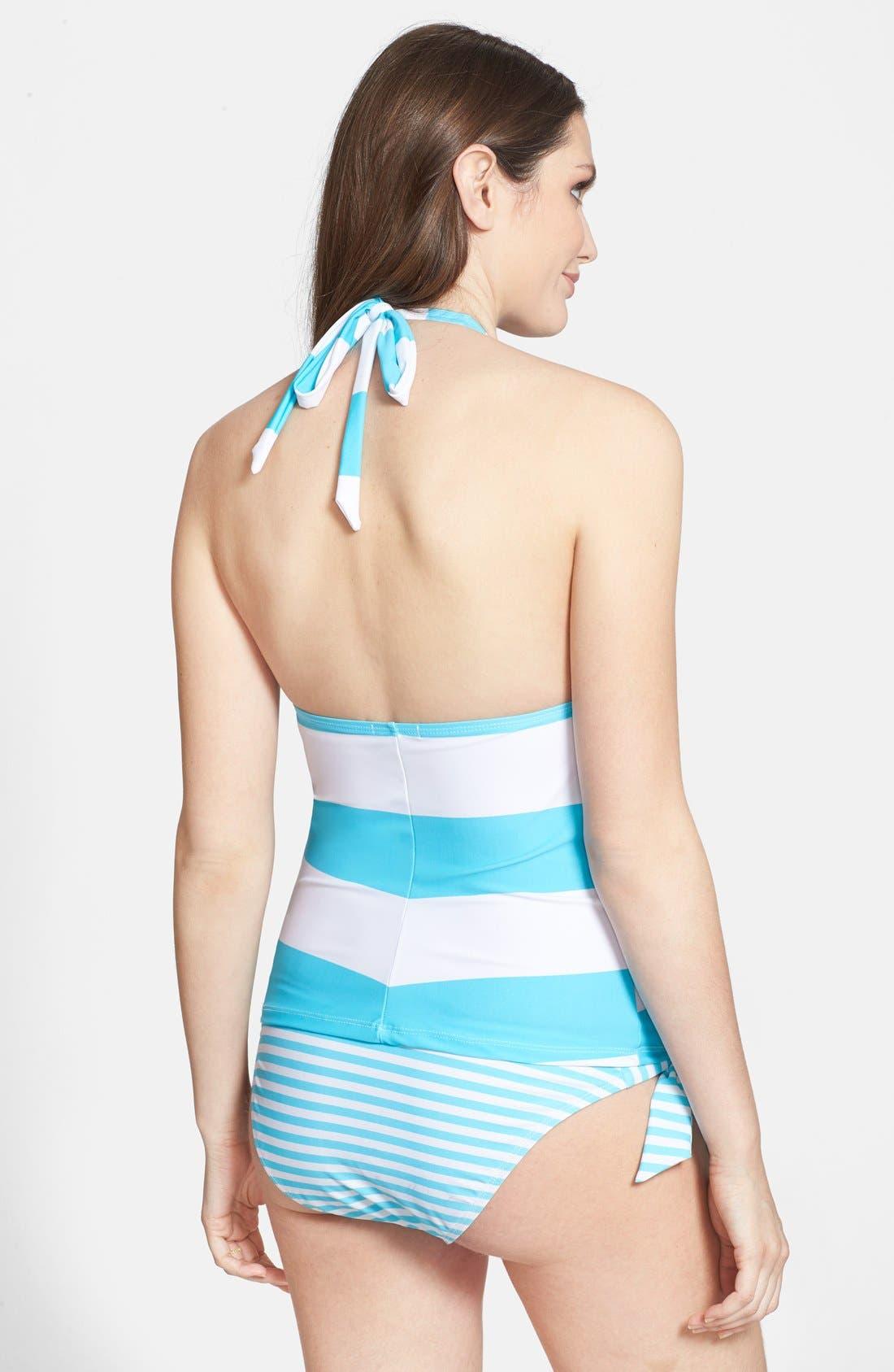 'Josie' Maternity Tankini Swimsuit,                             Alternate thumbnail 24, color,