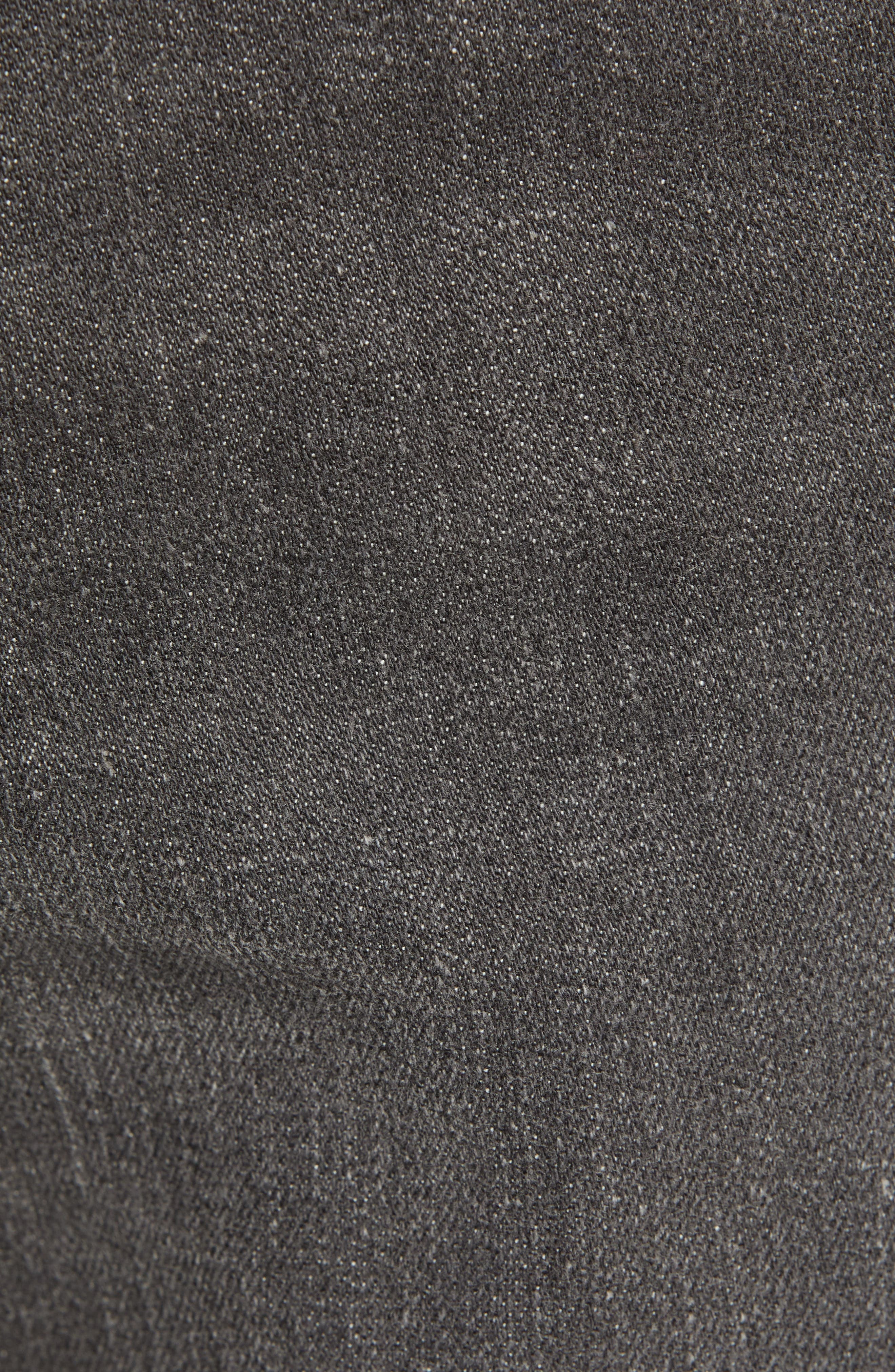 THE RAIL,                             Ripped Skinny Jeans,                             Alternate thumbnail 5, color,                             GREY CHRIS WASH