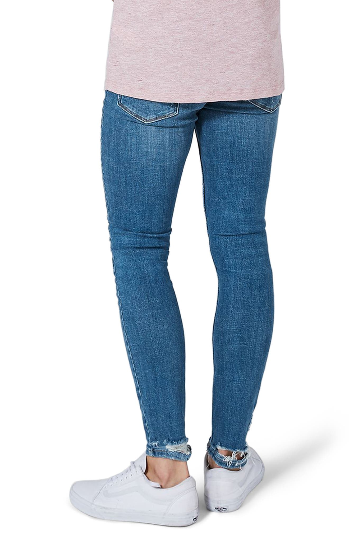Arthur Ripped Stretch Skinny Jeans,                             Alternate thumbnail 2, color,                             400
