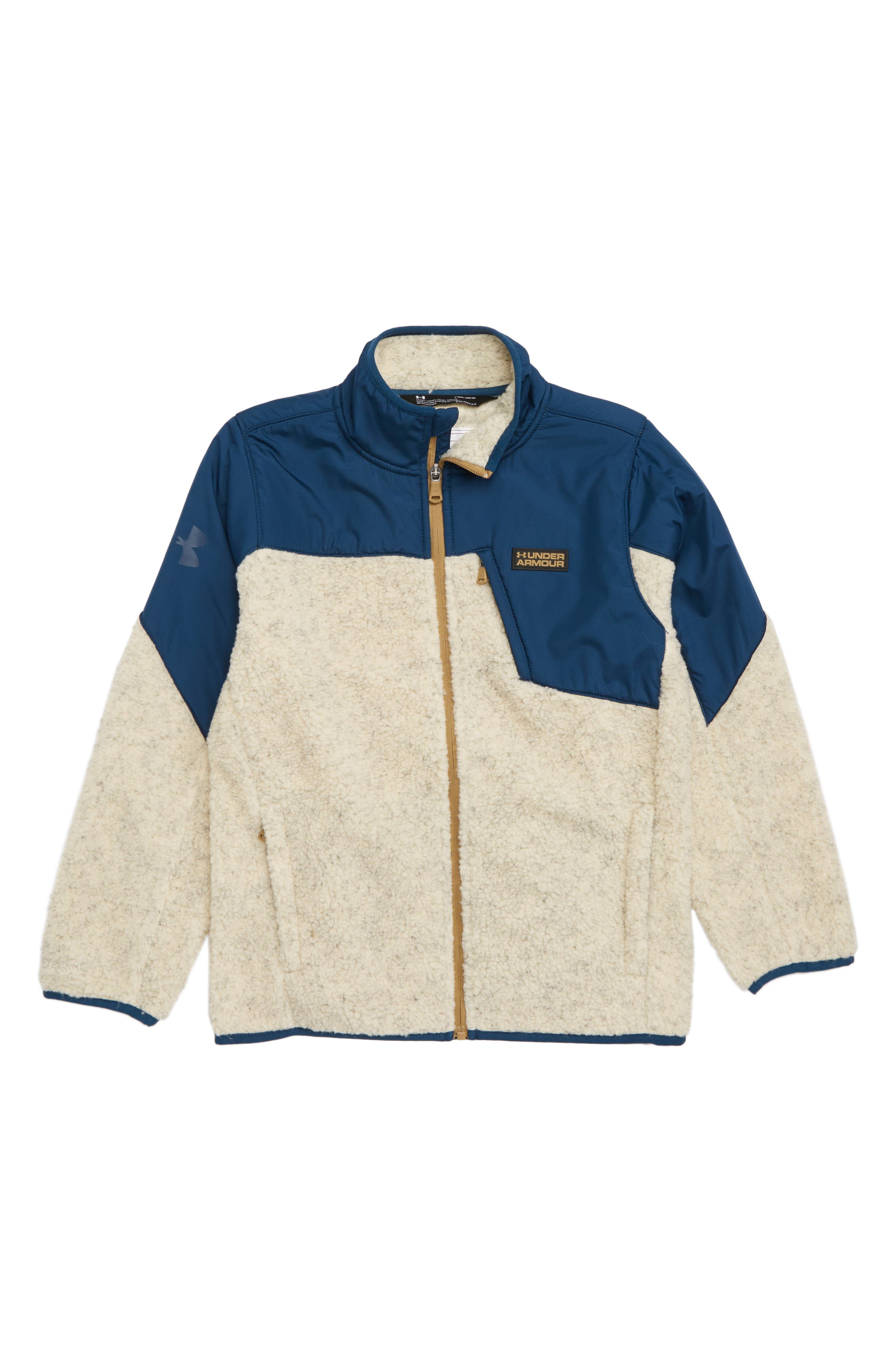 Storm Tanuk Fleece Jacket,                             Main thumbnail 1, color,                             OATMEAL HEATHER