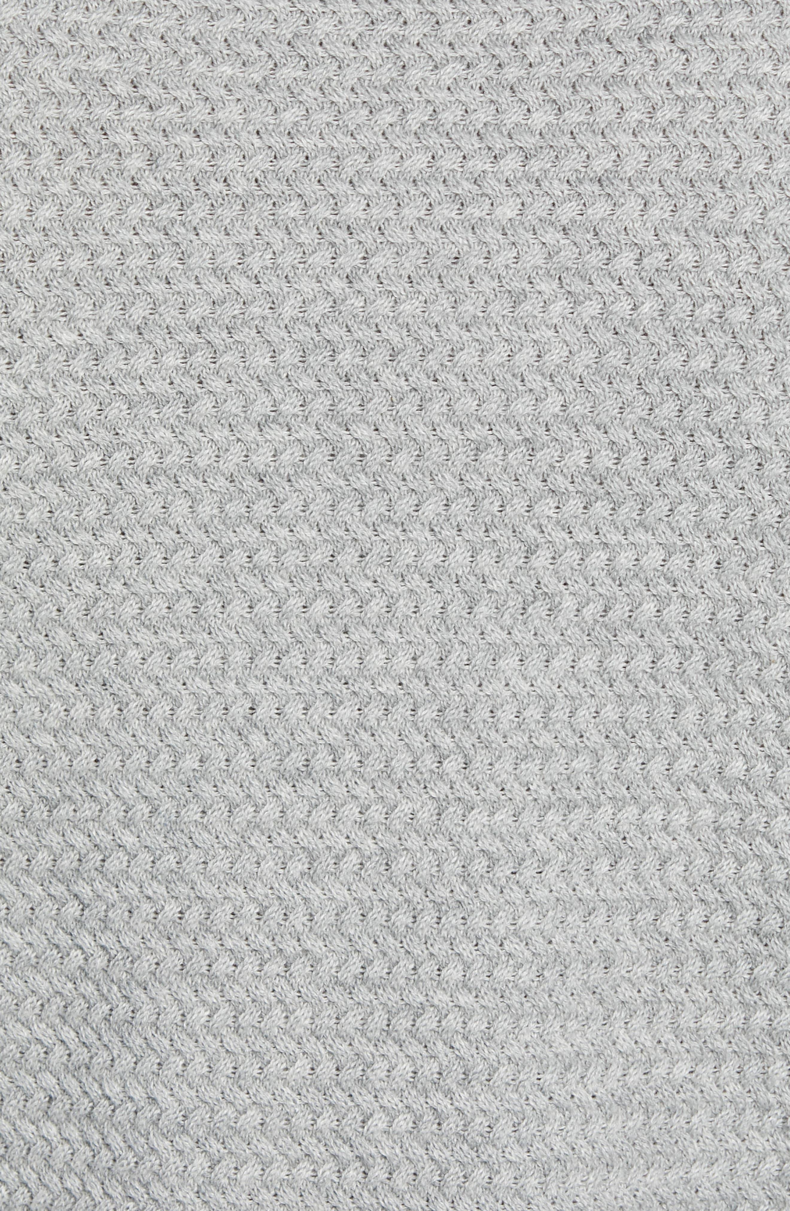 Martin Regular Fit Crewneck Sweater,                             Alternate thumbnail 5, color,                             MEDIUM GREY