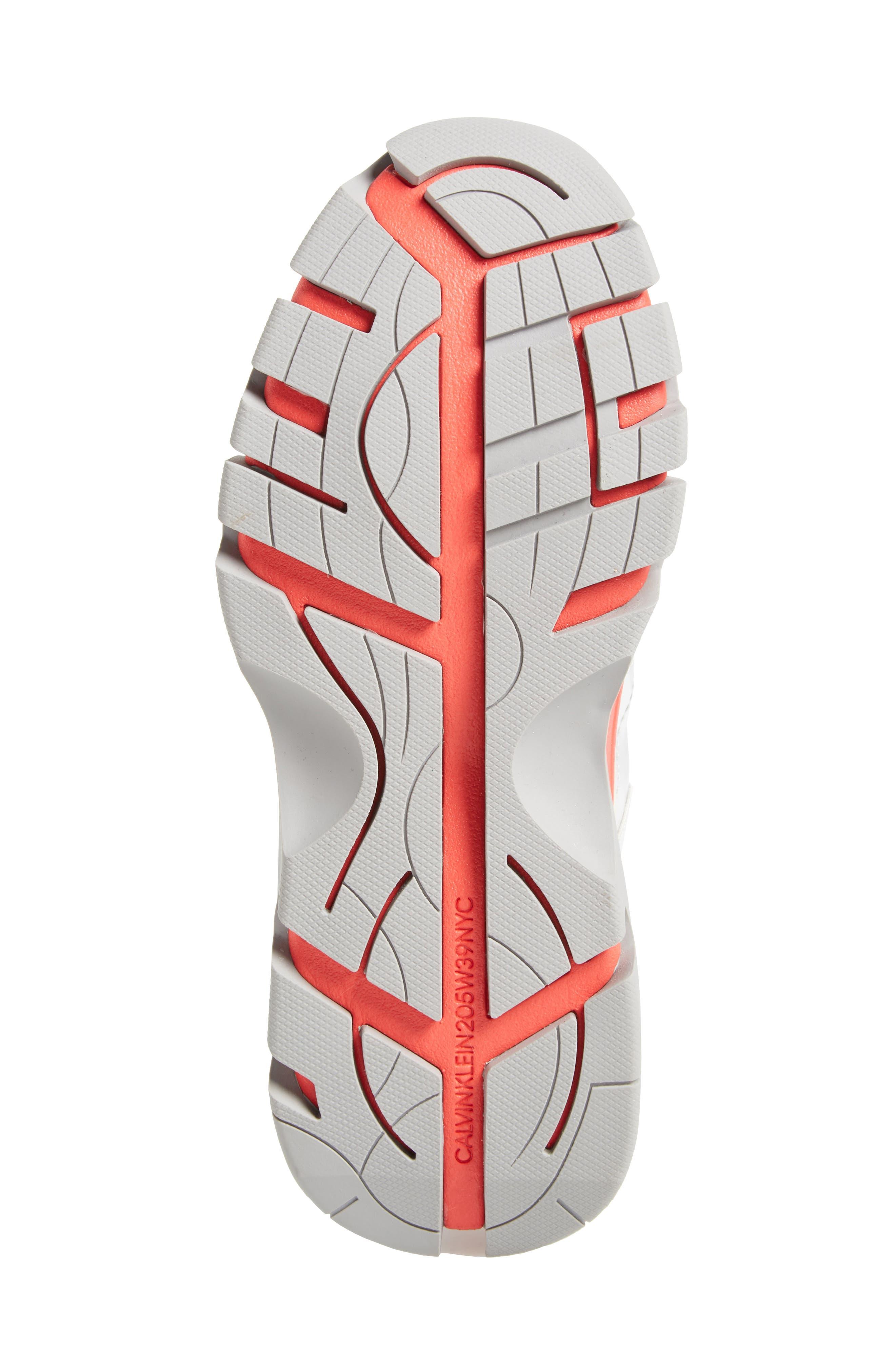 Carla Sneaker,                             Alternate thumbnail 6, color,                             SILVER