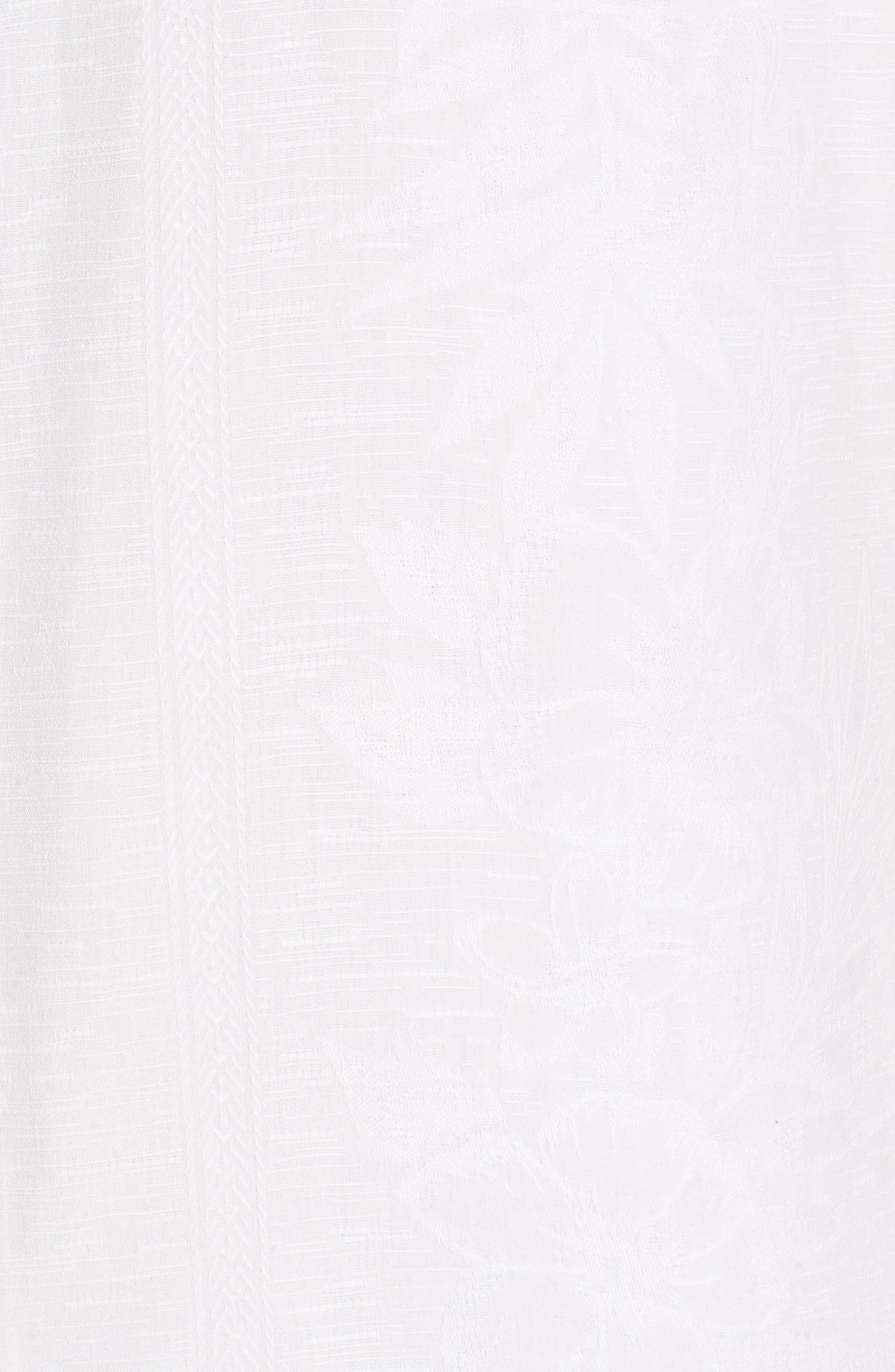 Hawaiian Wedding Silk Shirt,                             Alternate thumbnail 5, color,                             100
