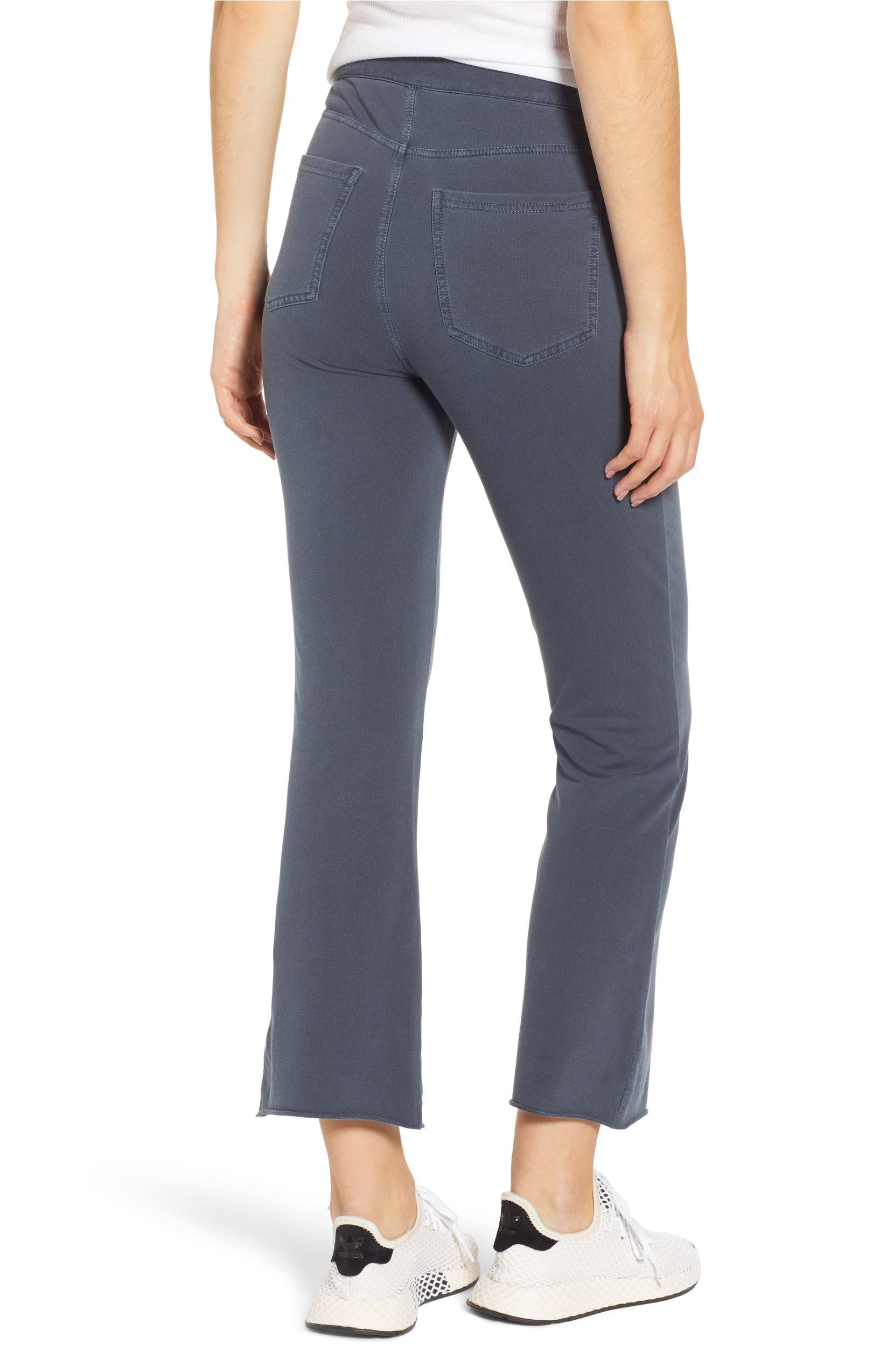 20404a63d4974 BP. Crop Flare Knit Pants (Regular   Plus Size)