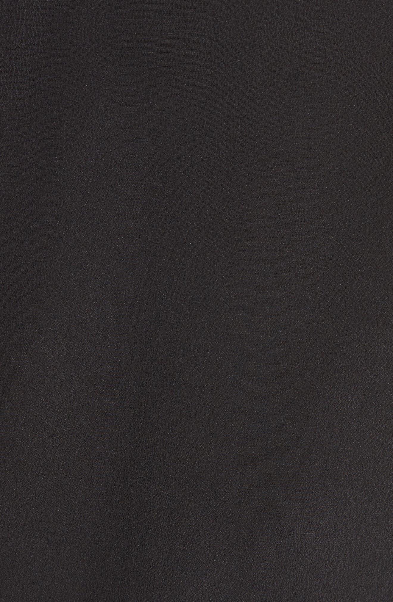 Britten Silk Shirtdress,                             Alternate thumbnail 5, color,                             003