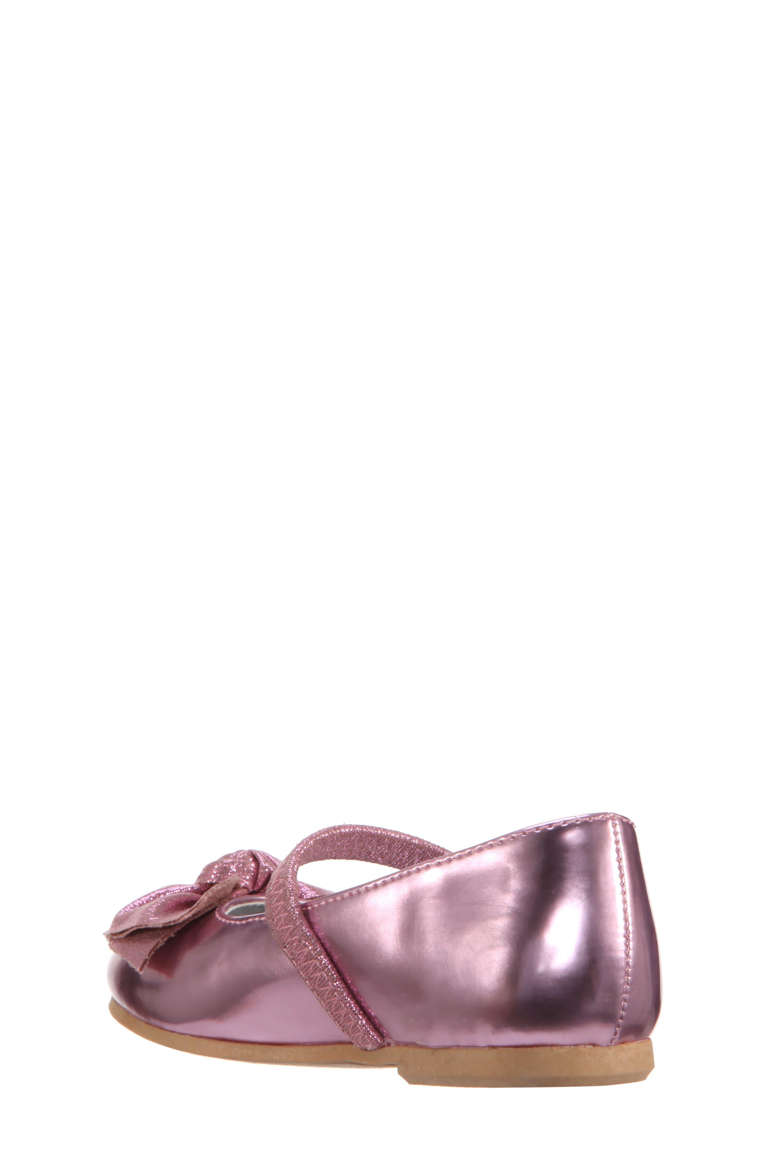 Kaytelyn-T Glitter Bow Ballet Flat,                             Alternate thumbnail 12, color,
