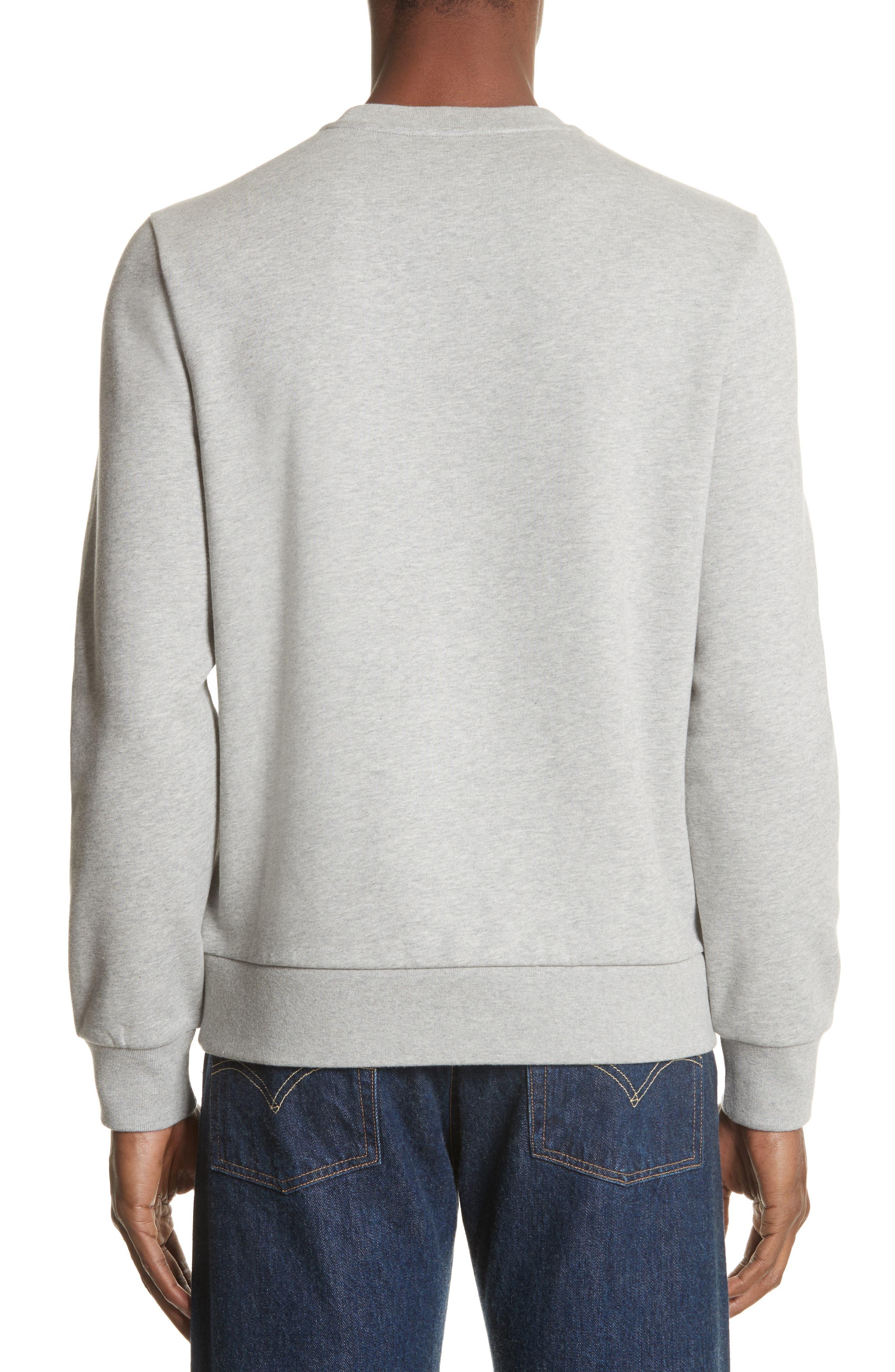 Maglia Bell Crewneck Sweatshirt,                             Alternate thumbnail 2, color,                             GREY