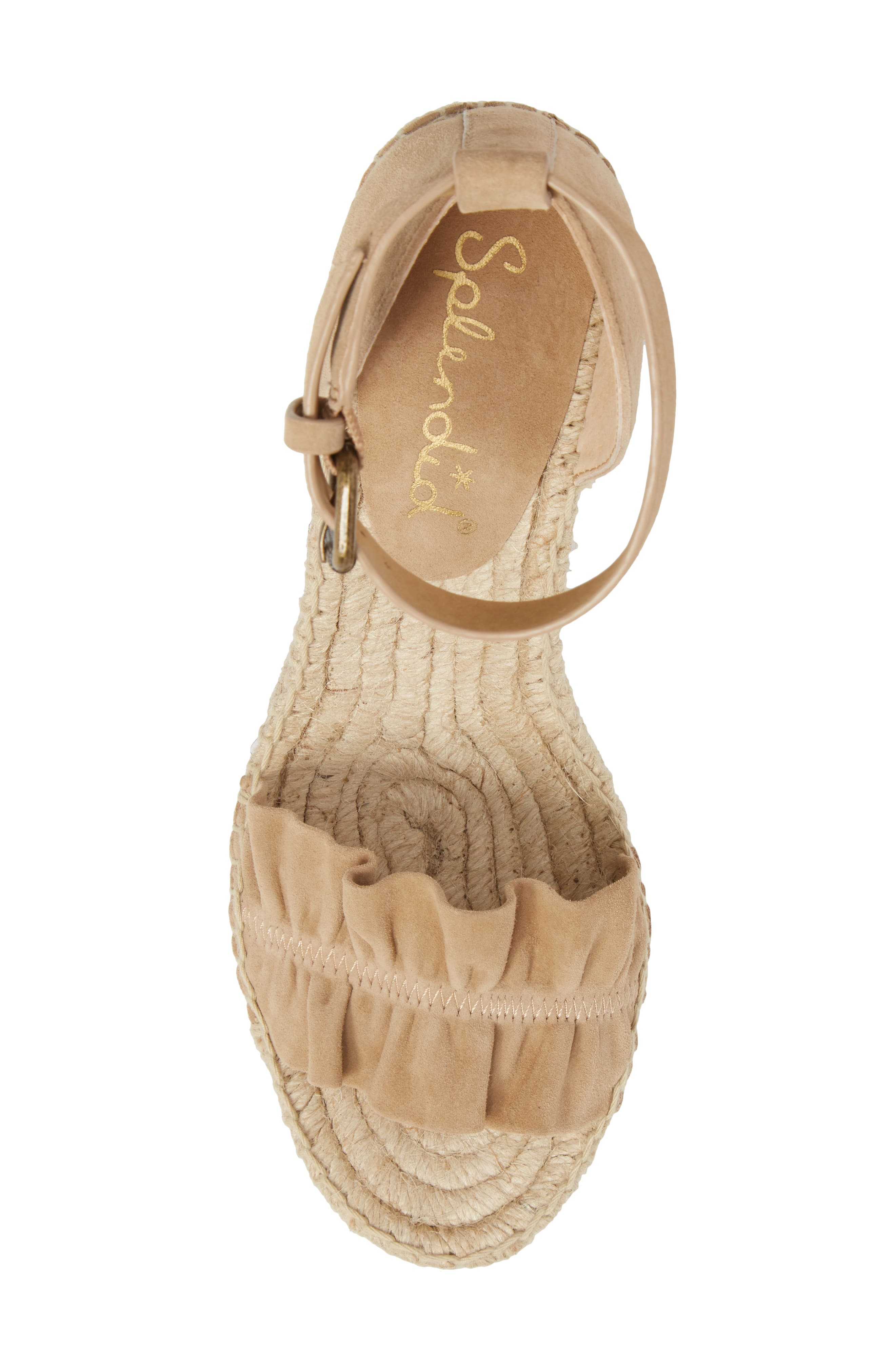 Bedford Espadrille Wedge Sandal,                             Alternate thumbnail 5, color,                             021