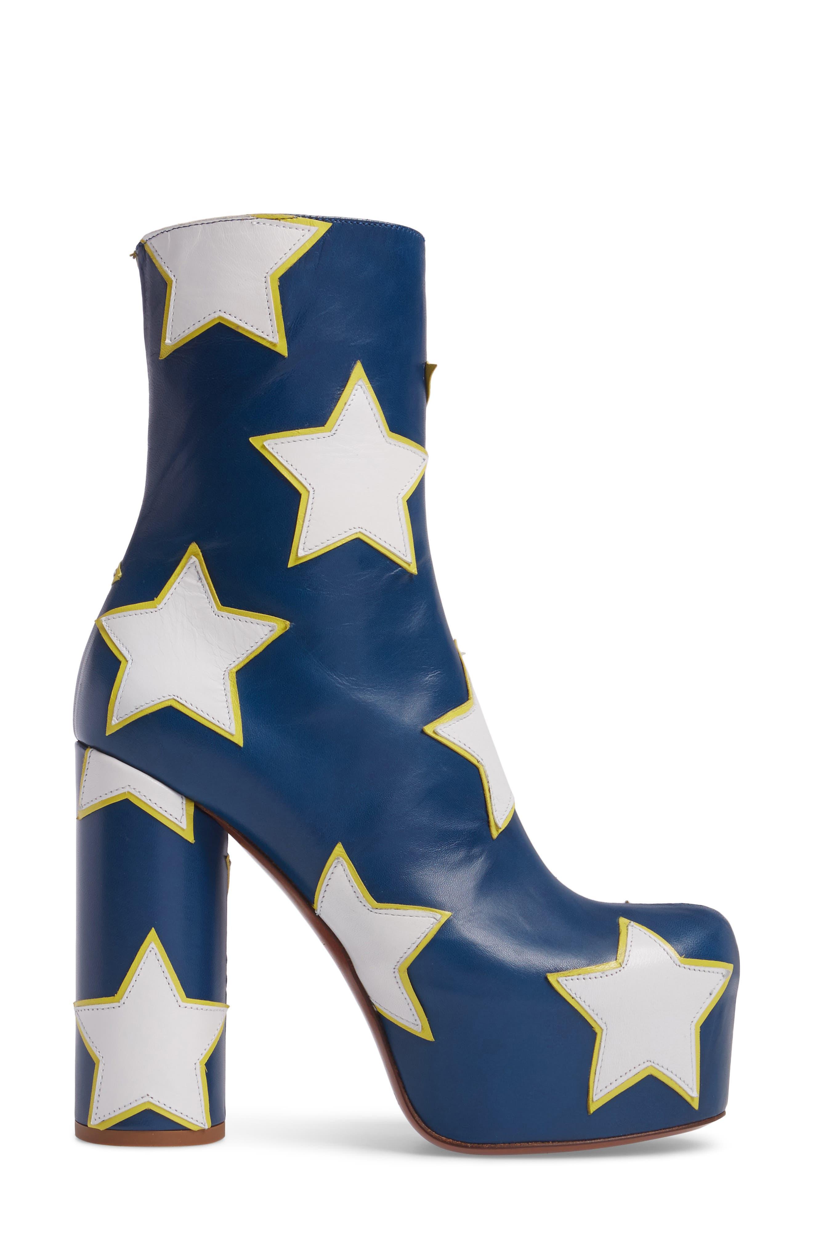 Star Platform Boot,                             Alternate thumbnail 3, color,                             460