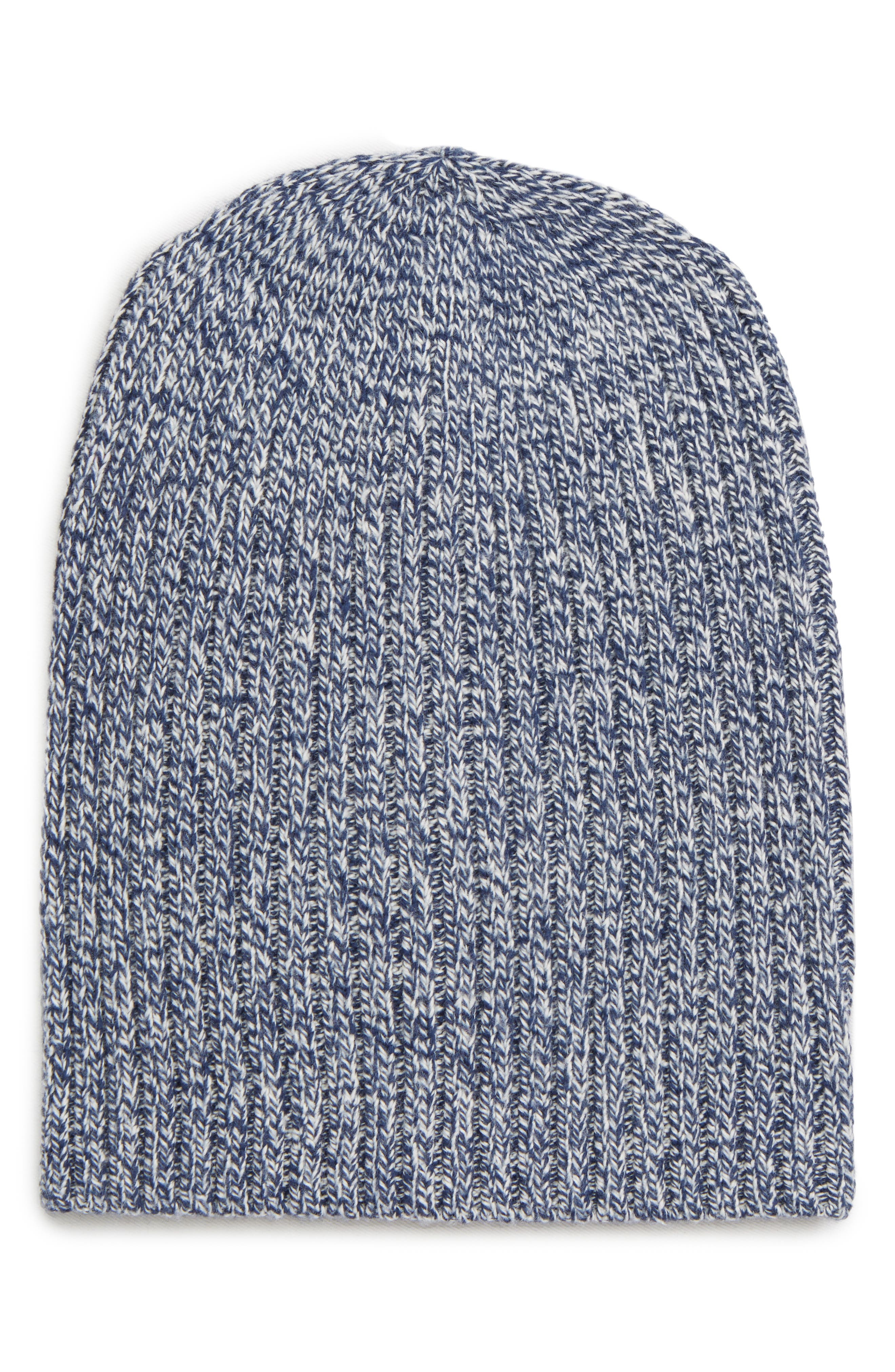 Perfect Textured Rib Beanie,                         Main,                         color, MOONLESS NIGHT MULTI