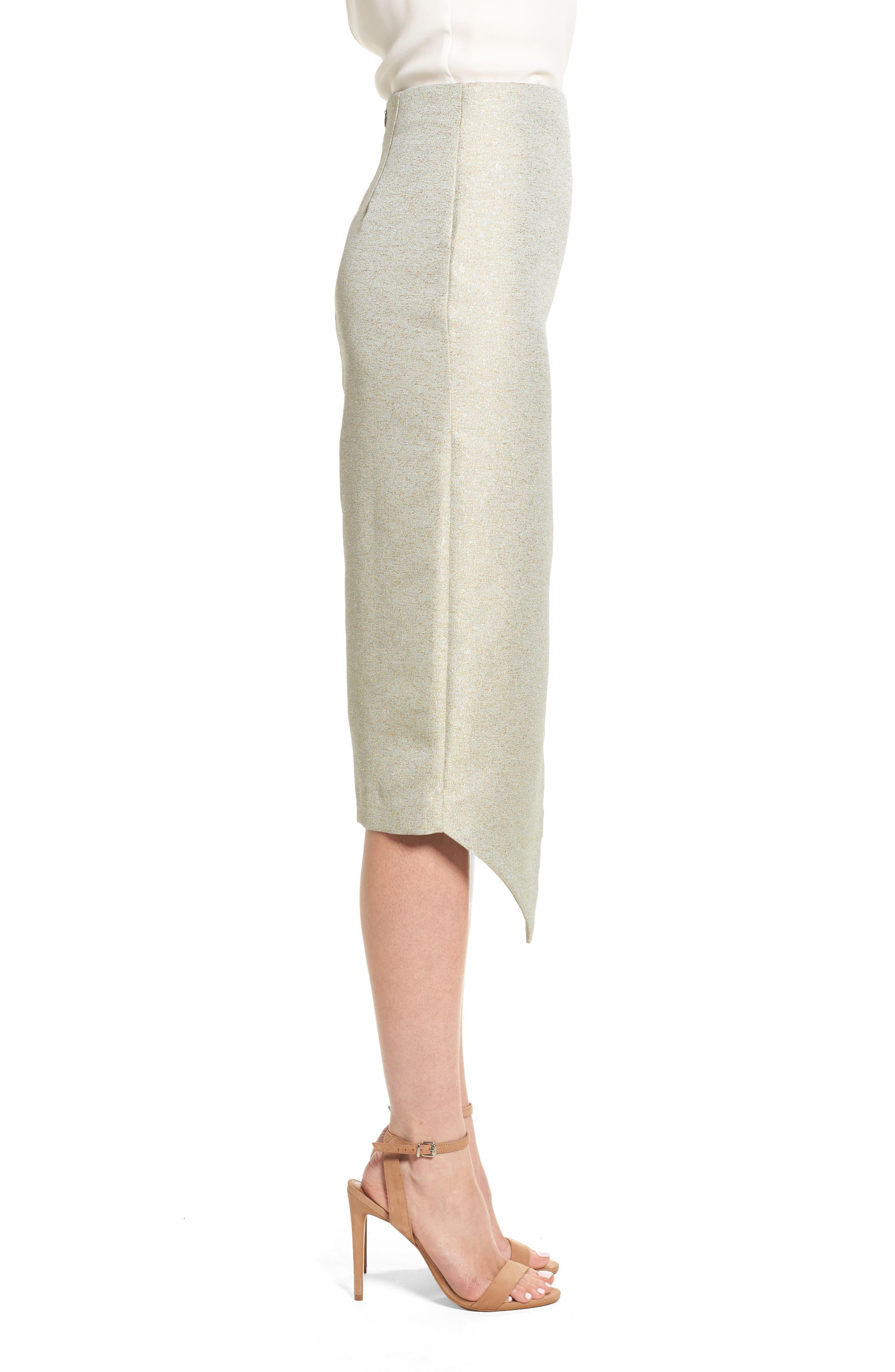 Valencia Midi Skirt,                             Alternate thumbnail 3, color,                             376