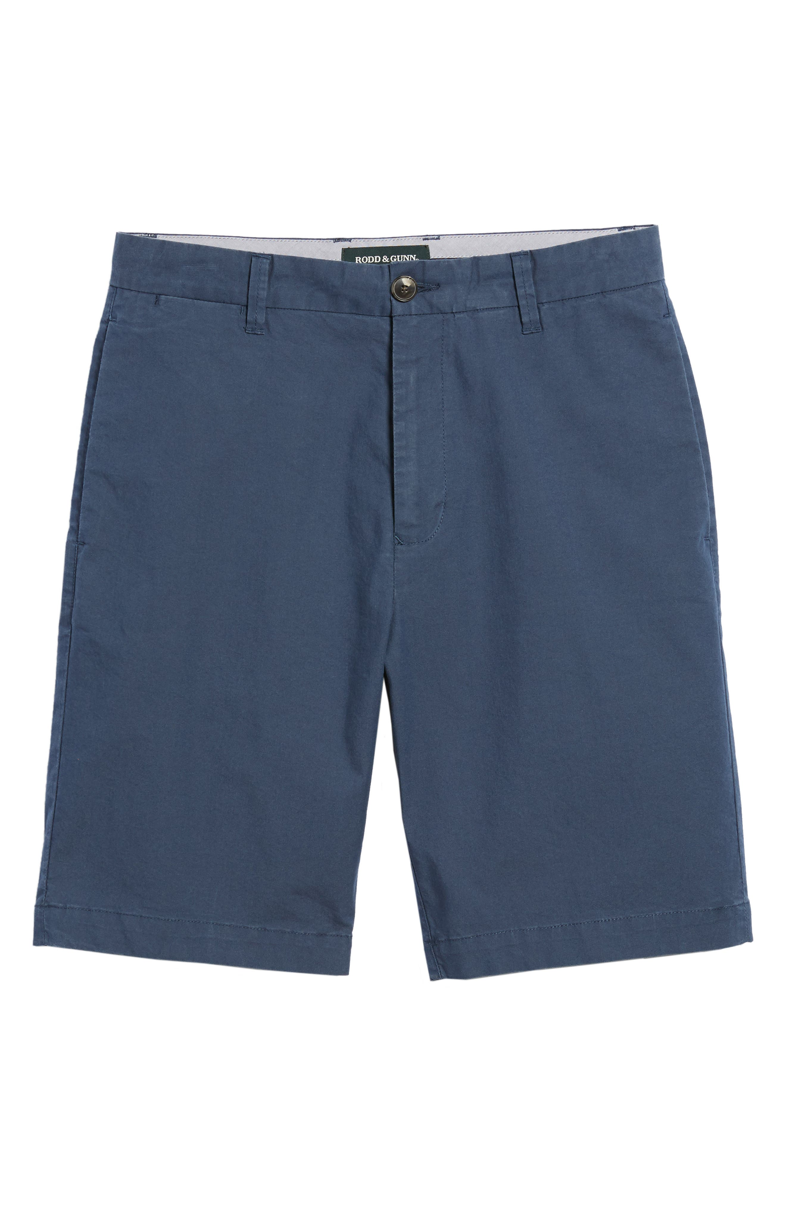 Broadway Regular Fit Chino Shorts,                             Alternate thumbnail 6, color,                             413