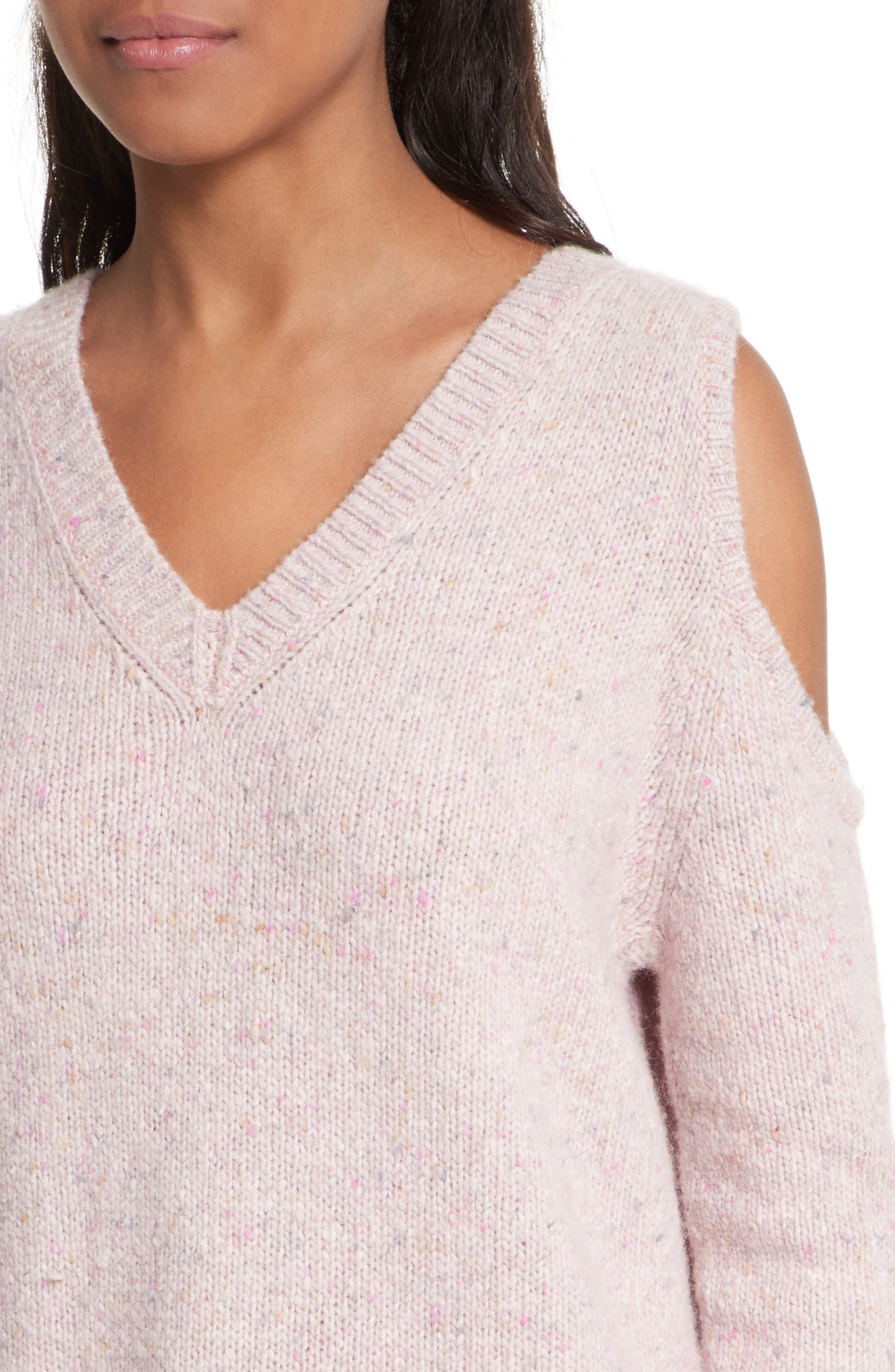 Page Cold Shoulder Sweater,                             Alternate thumbnail 27, color,
