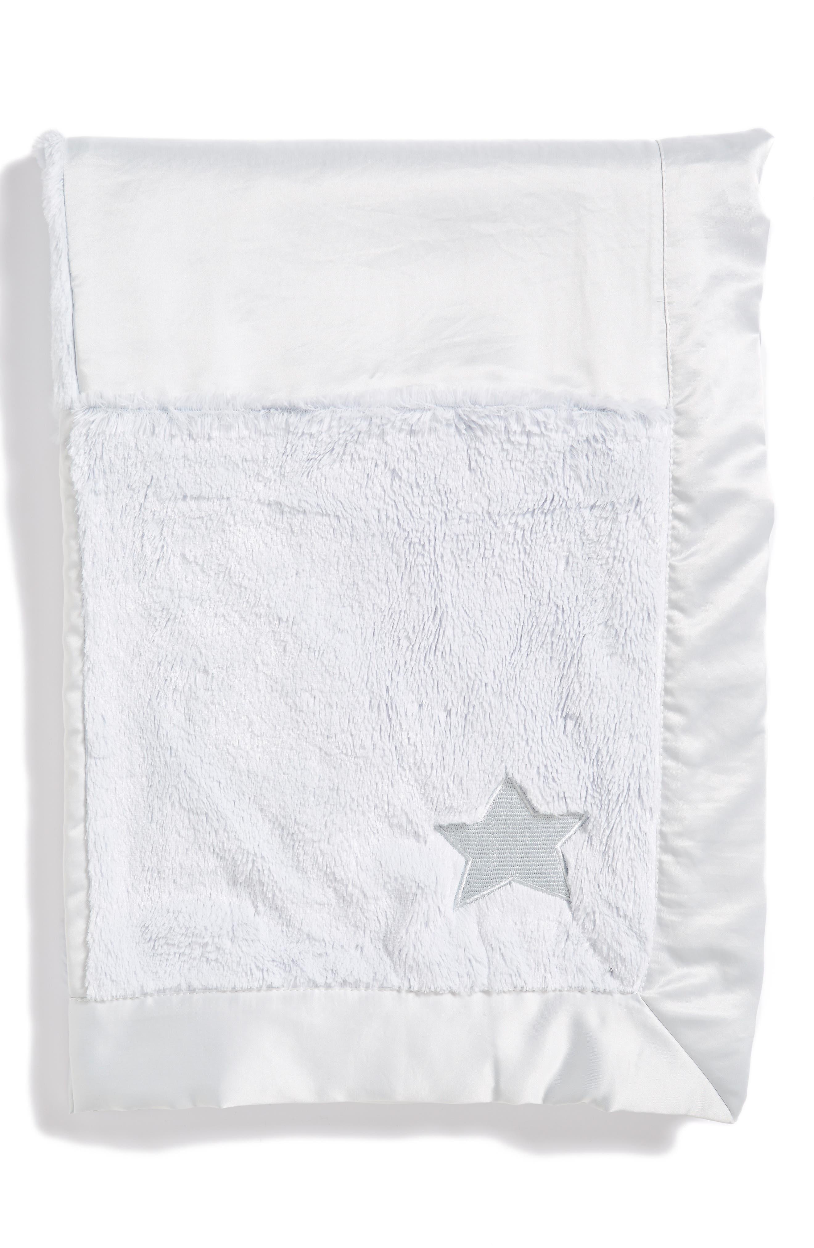 'Cuddle' Patchwork Receiving Blanket,                             Alternate thumbnail 2, color,                             400