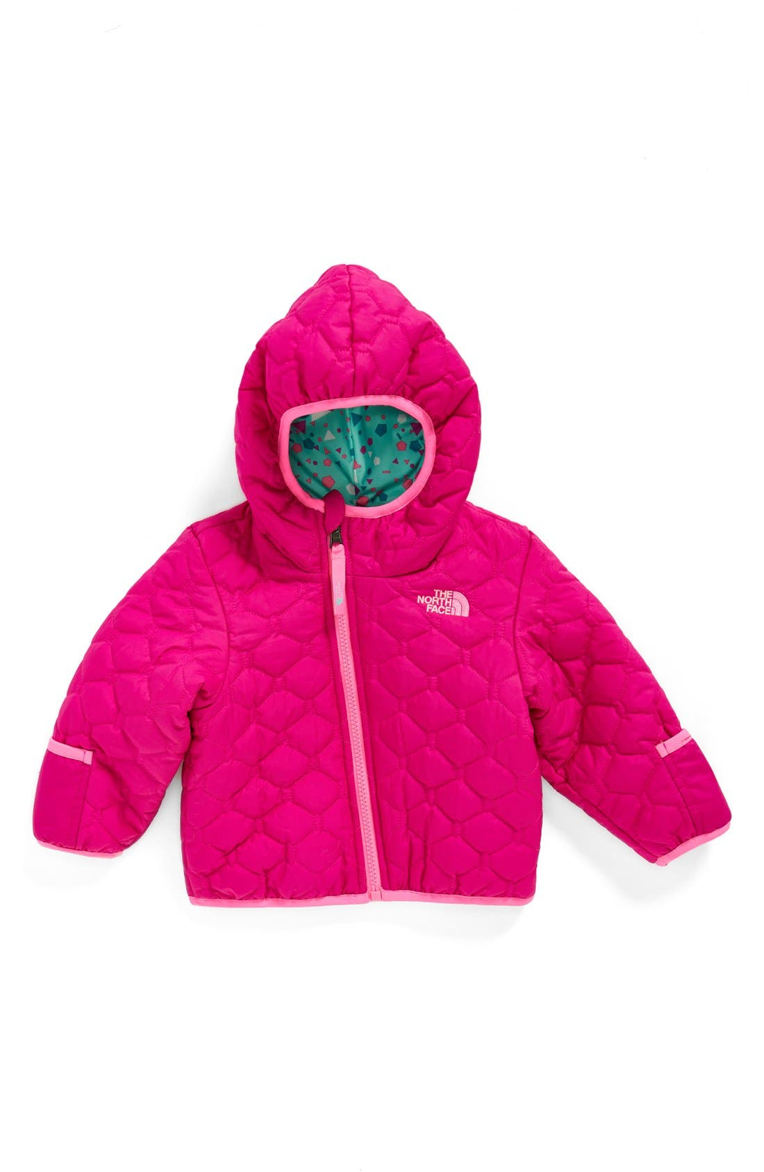 'Perrito' Reversible Water Repellent Hooded Jacket,                             Main thumbnail 4, color,