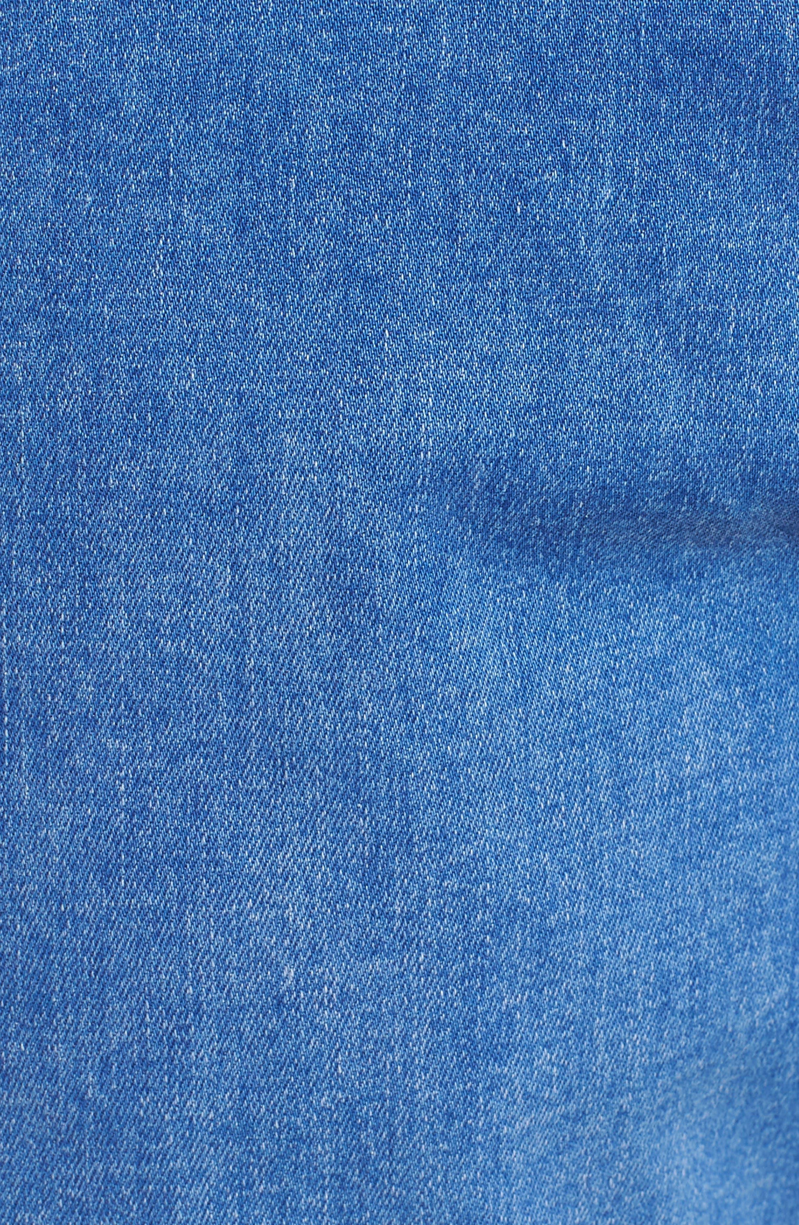 Rollies Slim Fit Jeans,                             Alternate thumbnail 5, color,                             BOLD BLUE