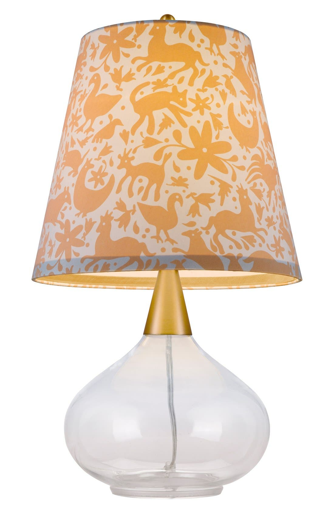 Teardrop Glass Table Lamp,                             Alternate thumbnail 3, color,