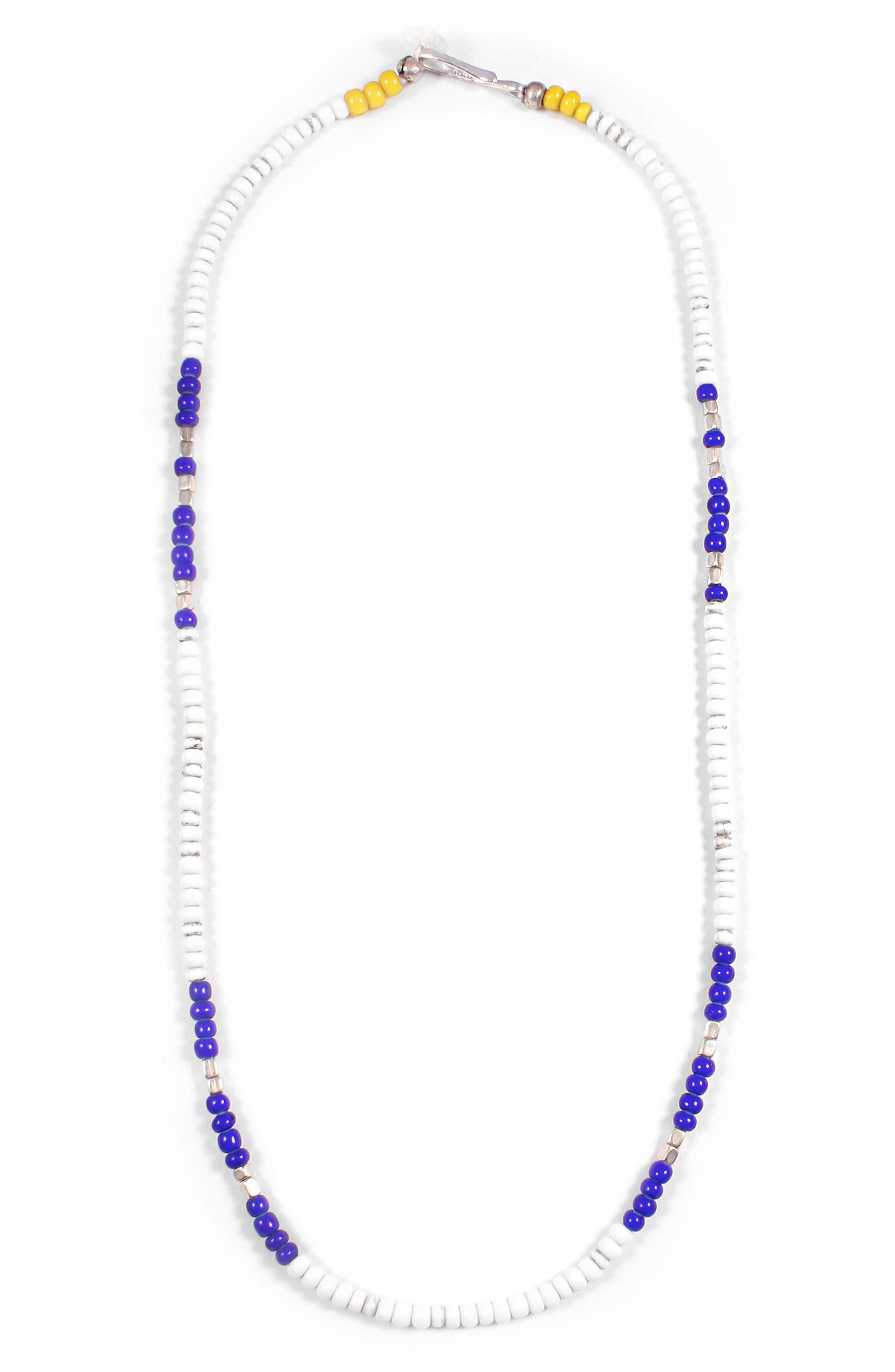 Cool Morse Necklace,                         Main,                         color, 420