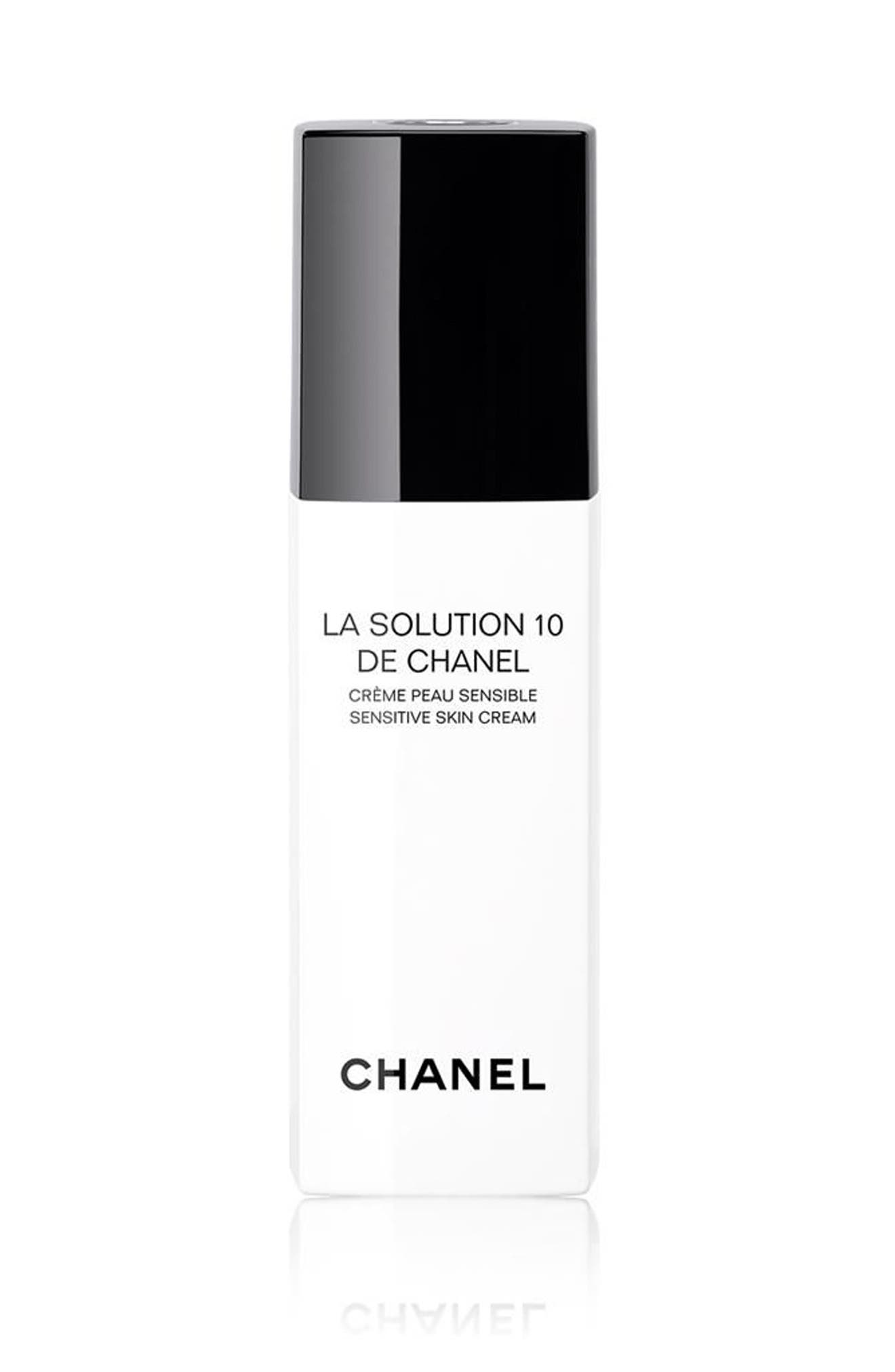 CHANEL LA SOLUTION 10 DE CHANEL<br />Sensitive Skin Cream, Main, color, NO COLOR