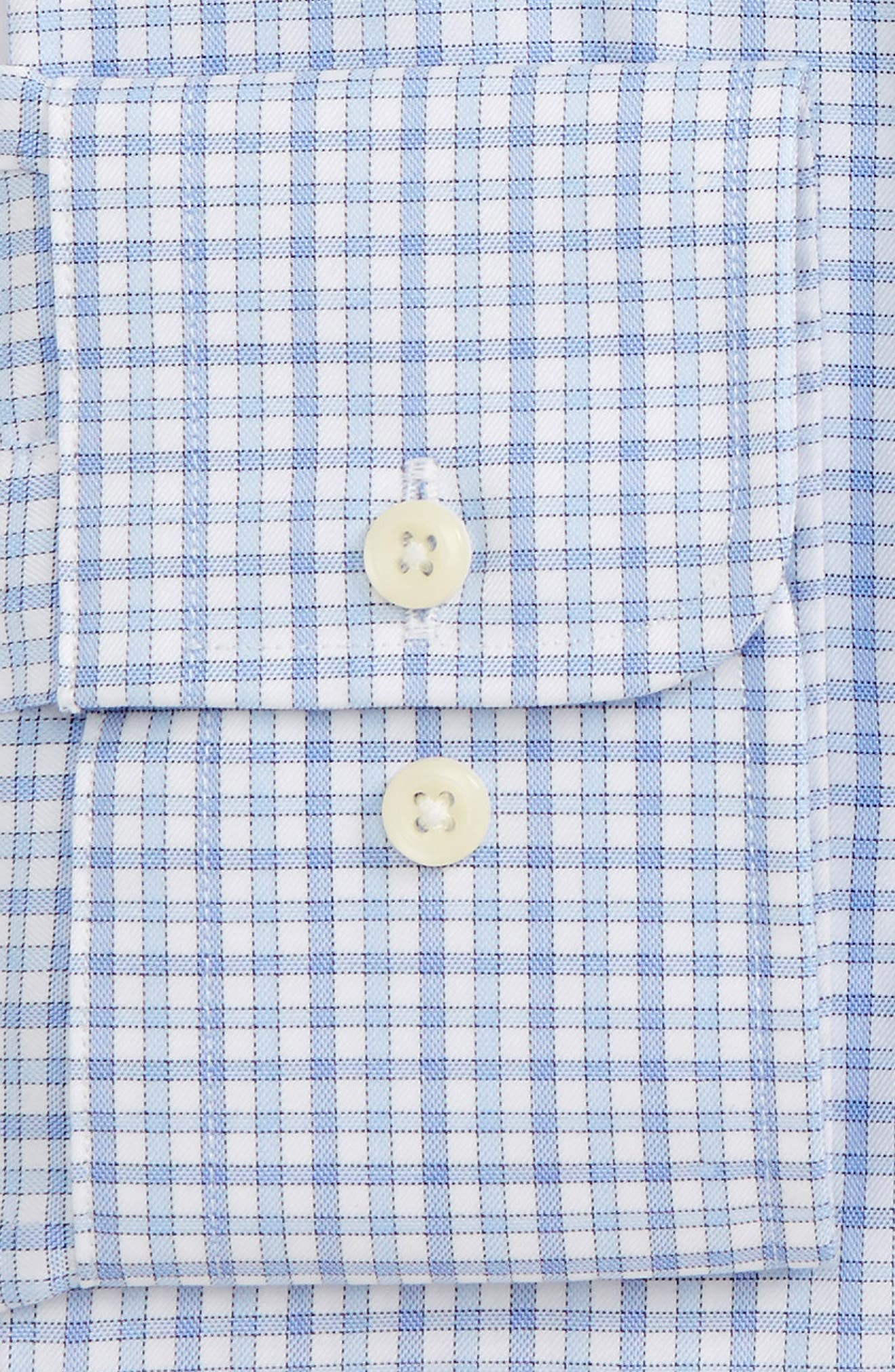 Trim Fit Check Dress Shirt,                             Alternate thumbnail 2, color,                             423