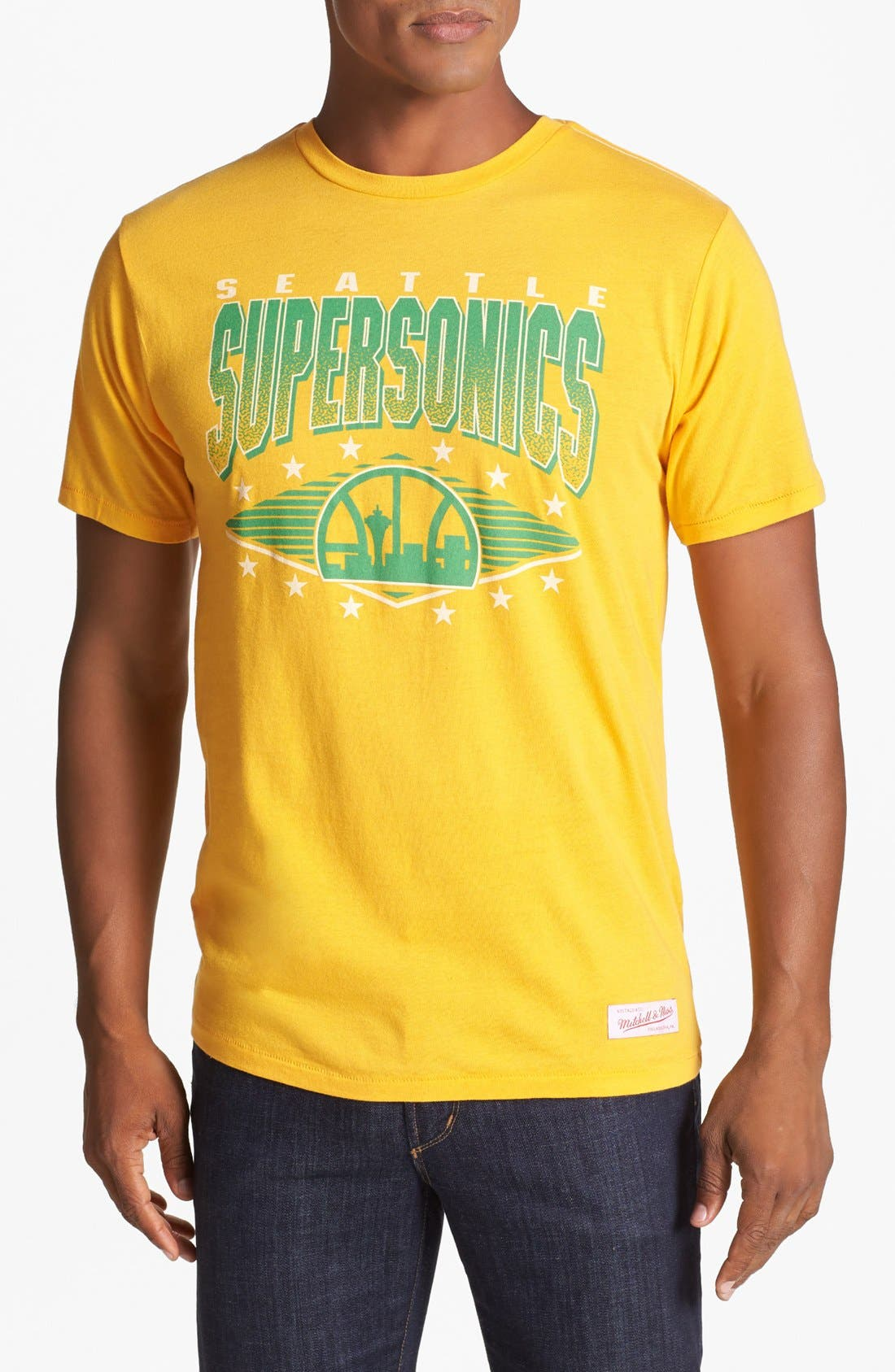 'Seattle Supersonics' T-Shirt,                             Main thumbnail 2, color,