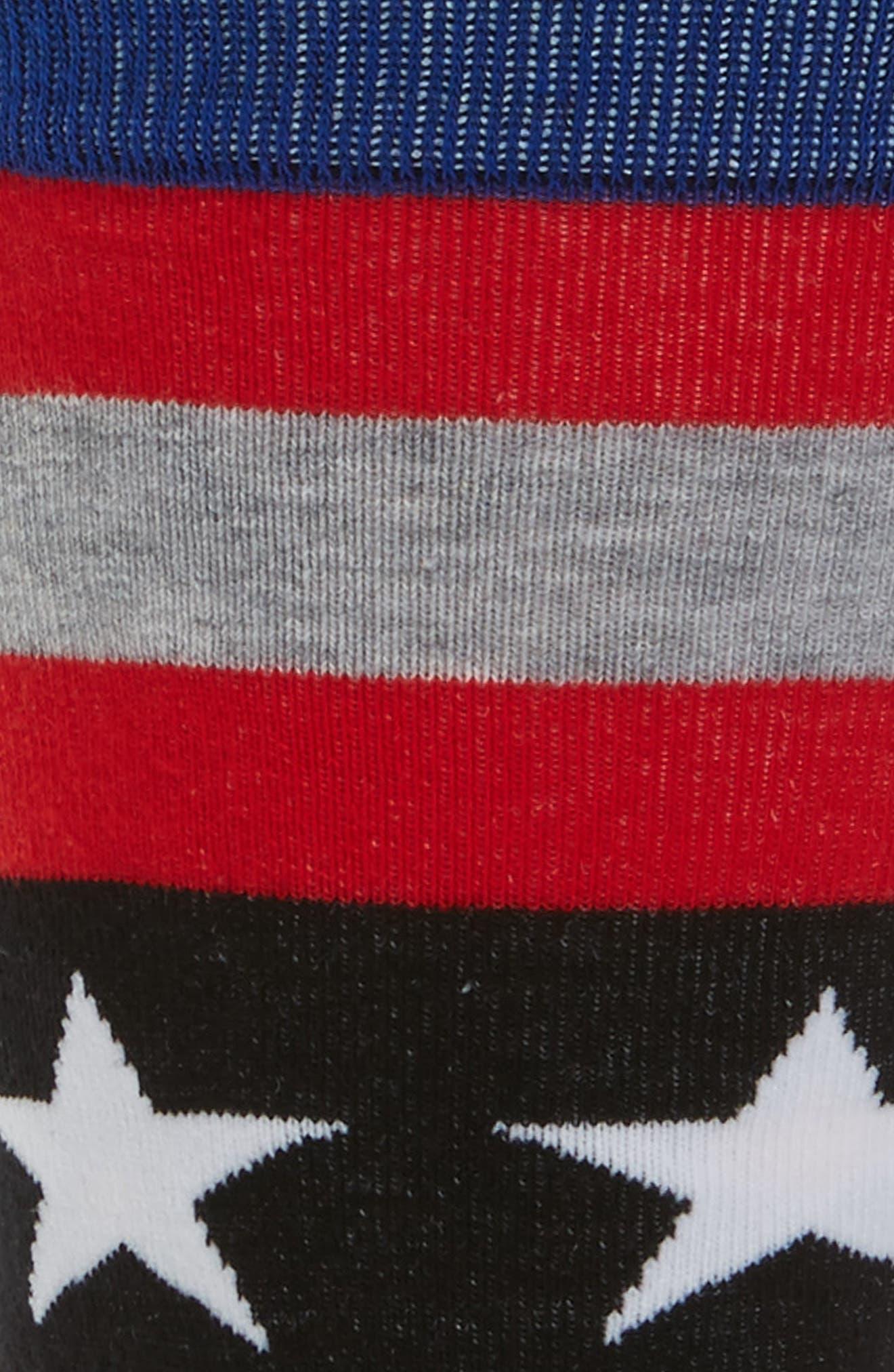 Harden Salute Socks,                             Alternate thumbnail 2, color,                             001