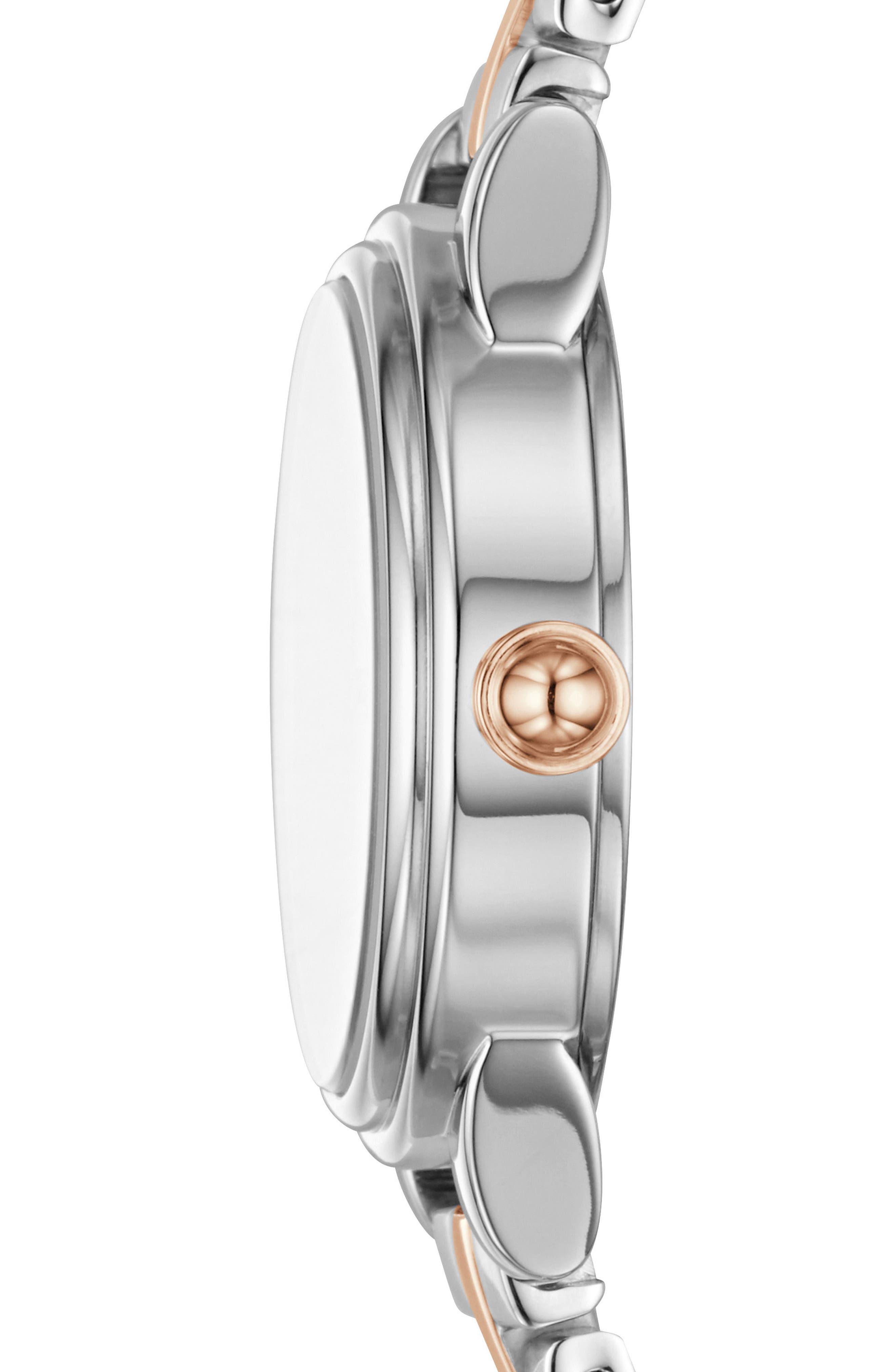 Corie Bracelet Watch, 28mm,                             Alternate thumbnail 3, color,