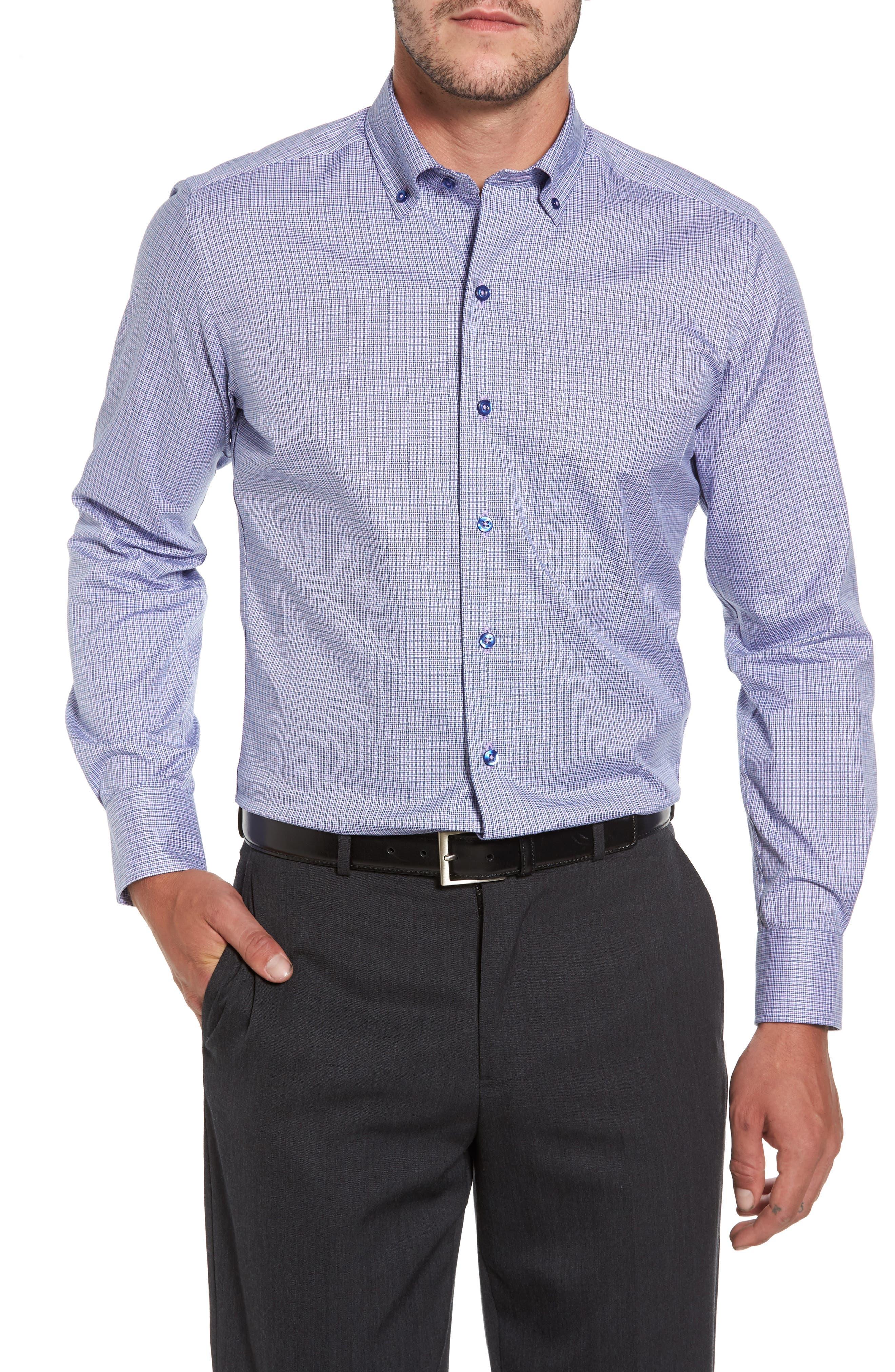 Microcheck Sport Shirt,                         Main,                         color, 431
