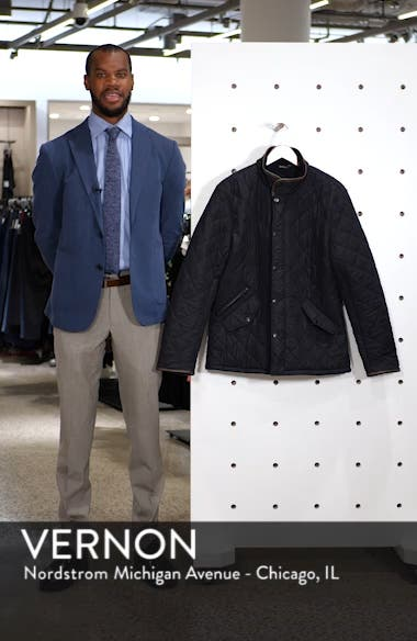 'Powell' Quilted Jacket, sales video thumbnail