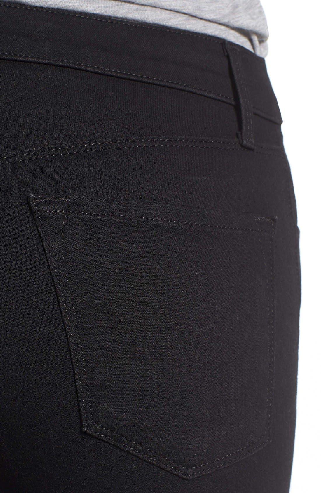 Alana High Waist Crop Skinny Jeans,                             Alternate thumbnail 8, color,                             002