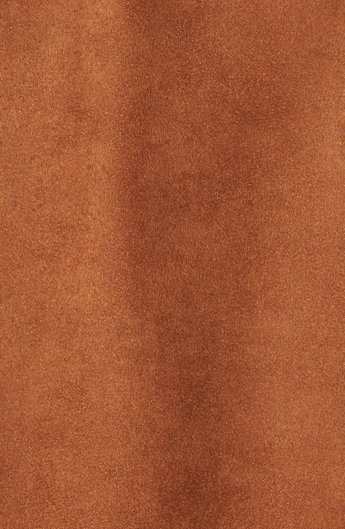 Fringe Faux Suede Jacket,                             Alternate thumbnail 2, color,                             200