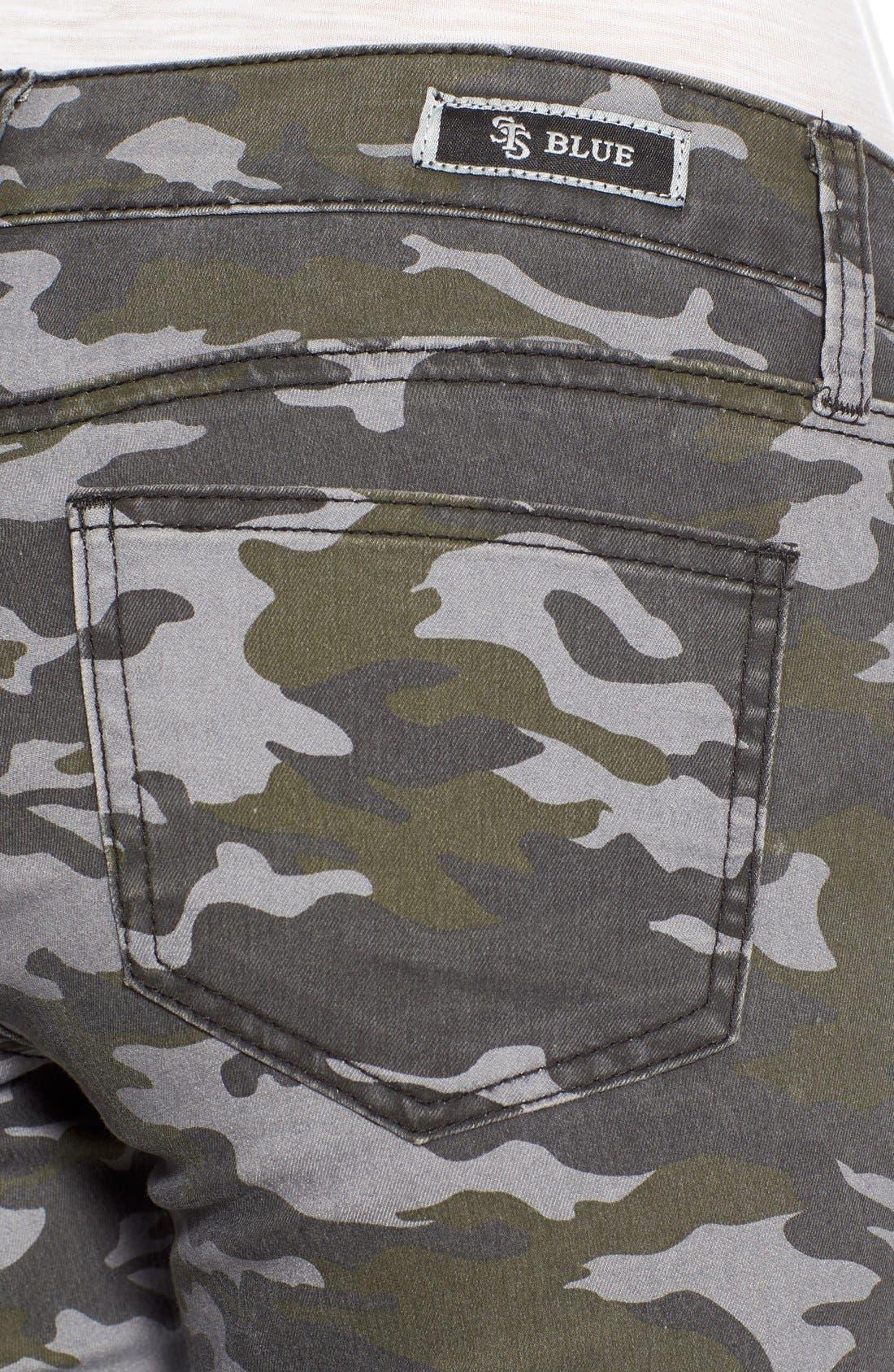 Camo Print Cargo Pants,                             Alternate thumbnail 5, color,                             317