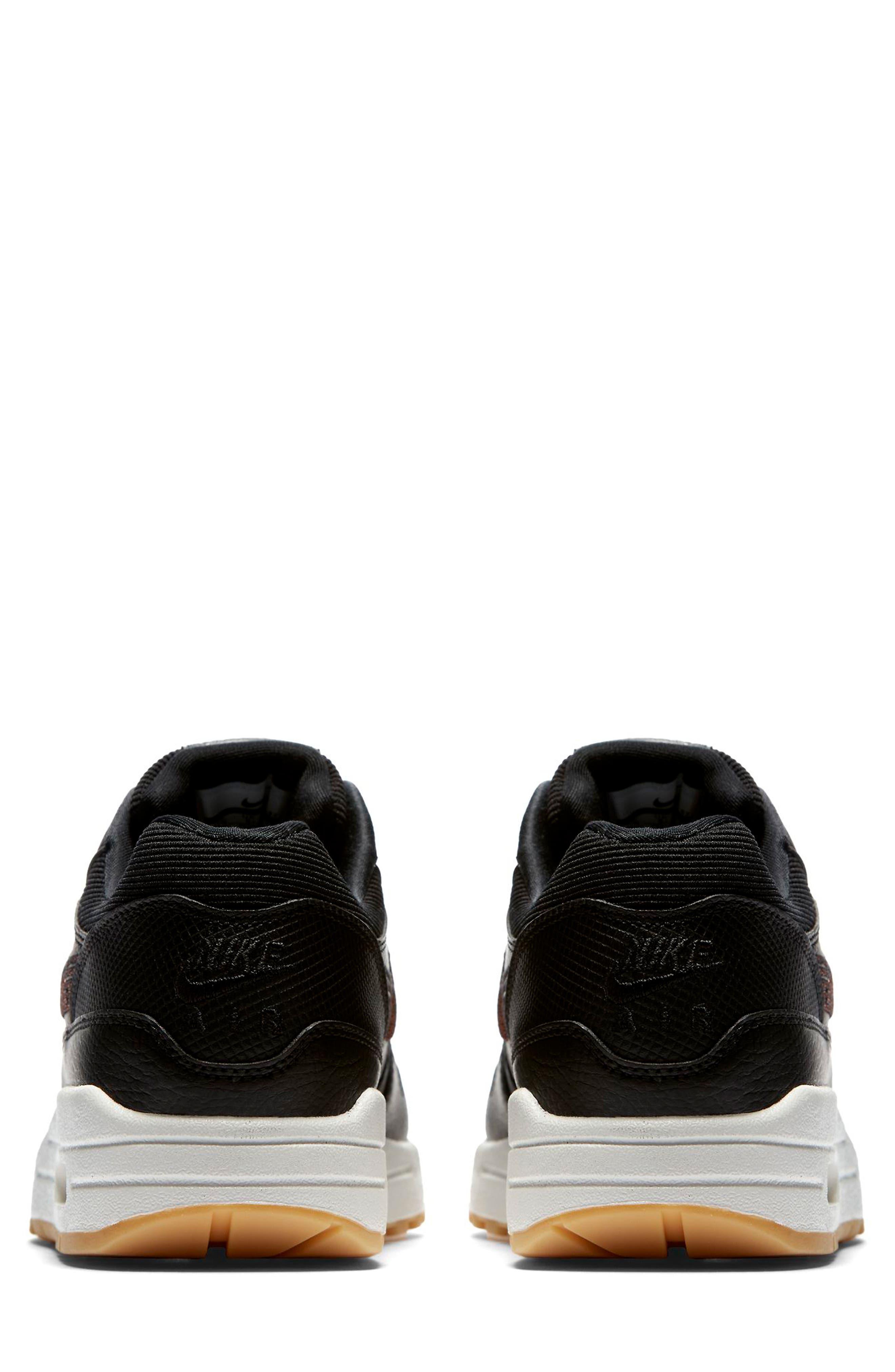 Air Max 1 Premium Sneaker,                             Alternate thumbnail 2, color,                             GREY