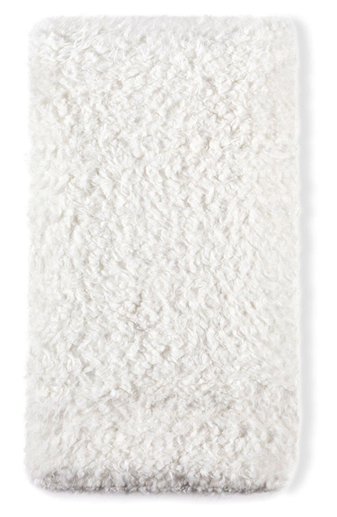 Tula Oversize Throw Blanket,                             Main thumbnail 1, color,                             WHITE