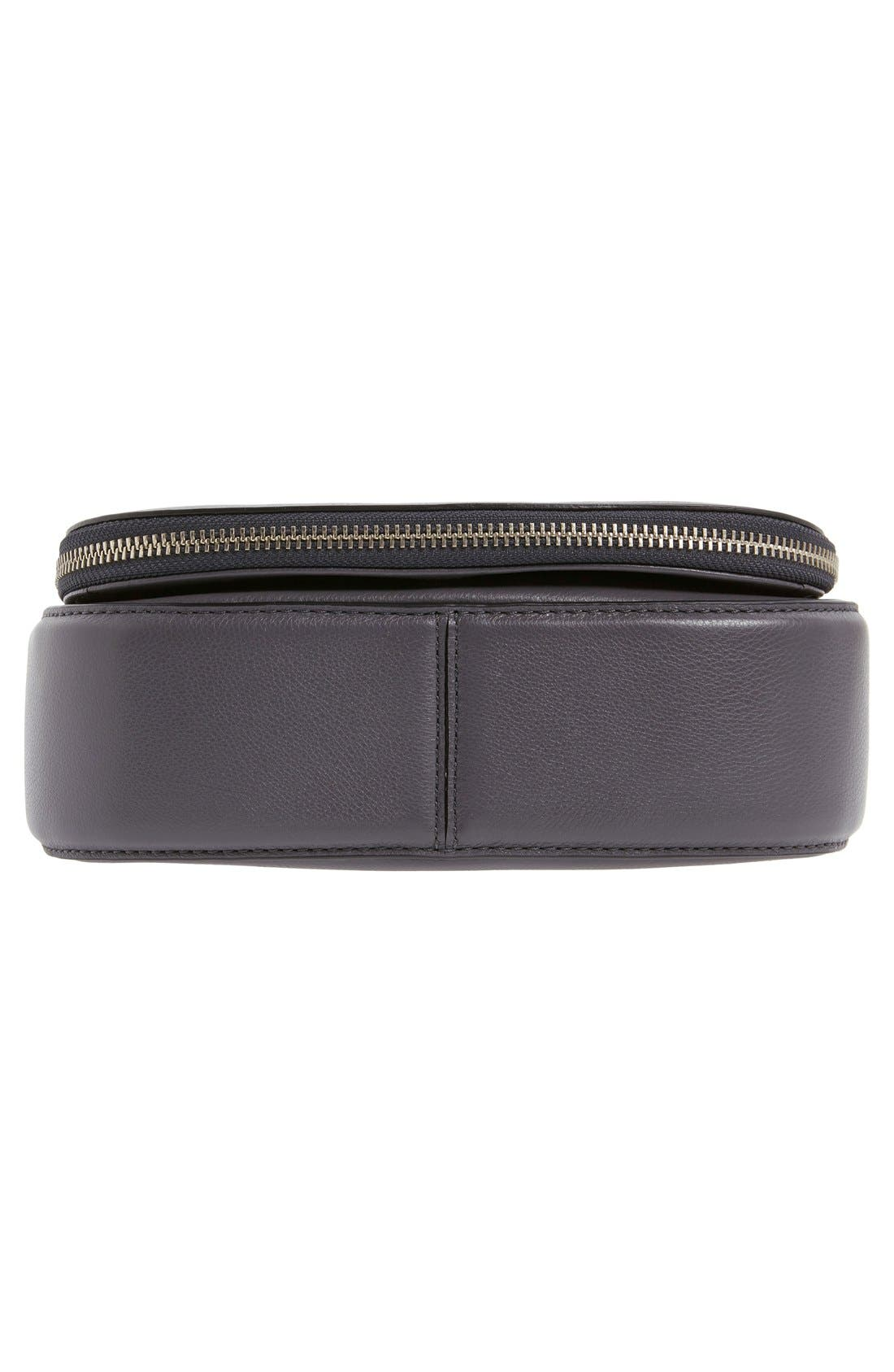 Small Recruit Nomad Pebbled Leather Crossbody Bag,                             Alternate thumbnail 82, color,