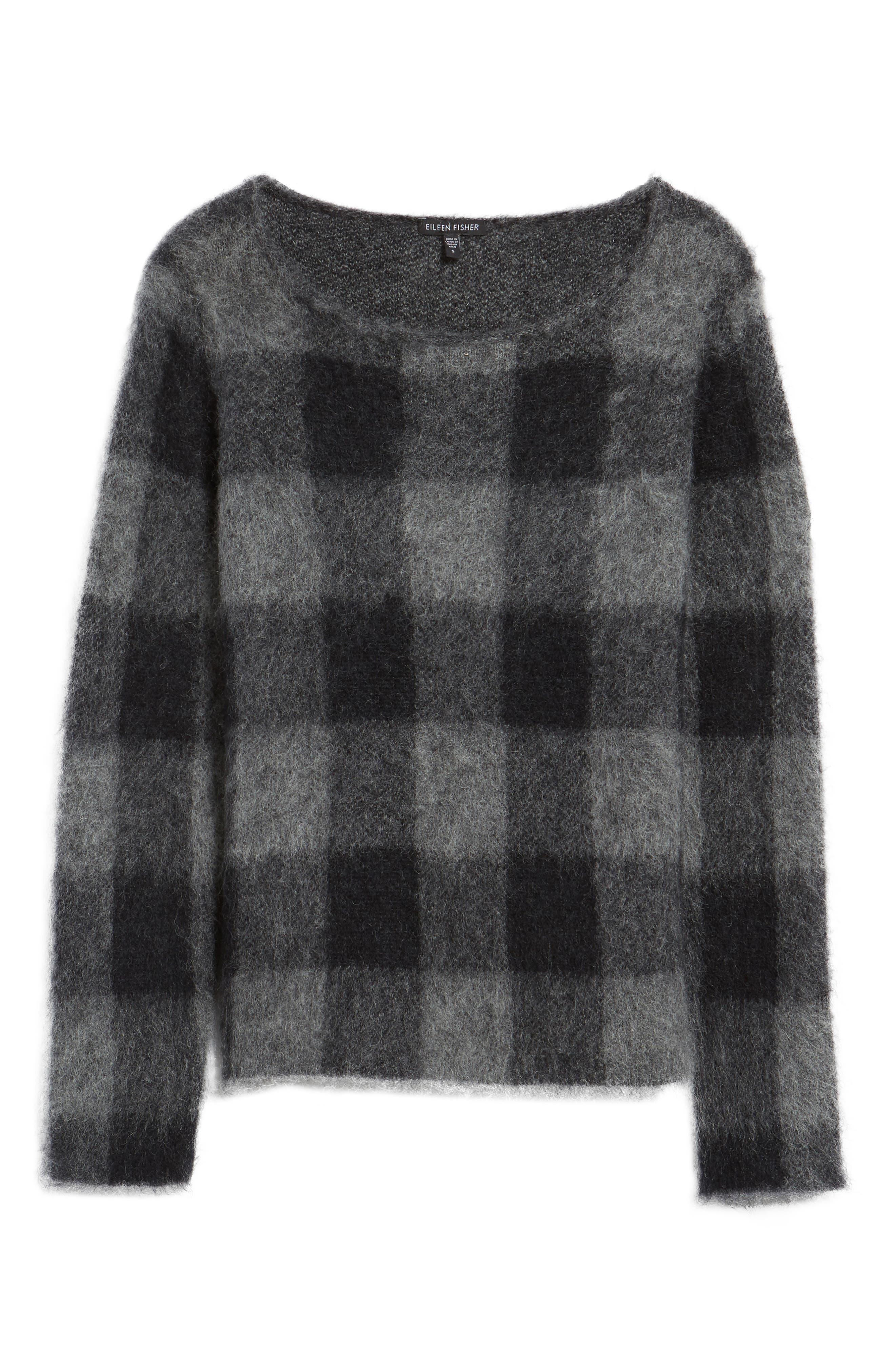 Check Plaid Sweater,                             Alternate thumbnail 11, color,