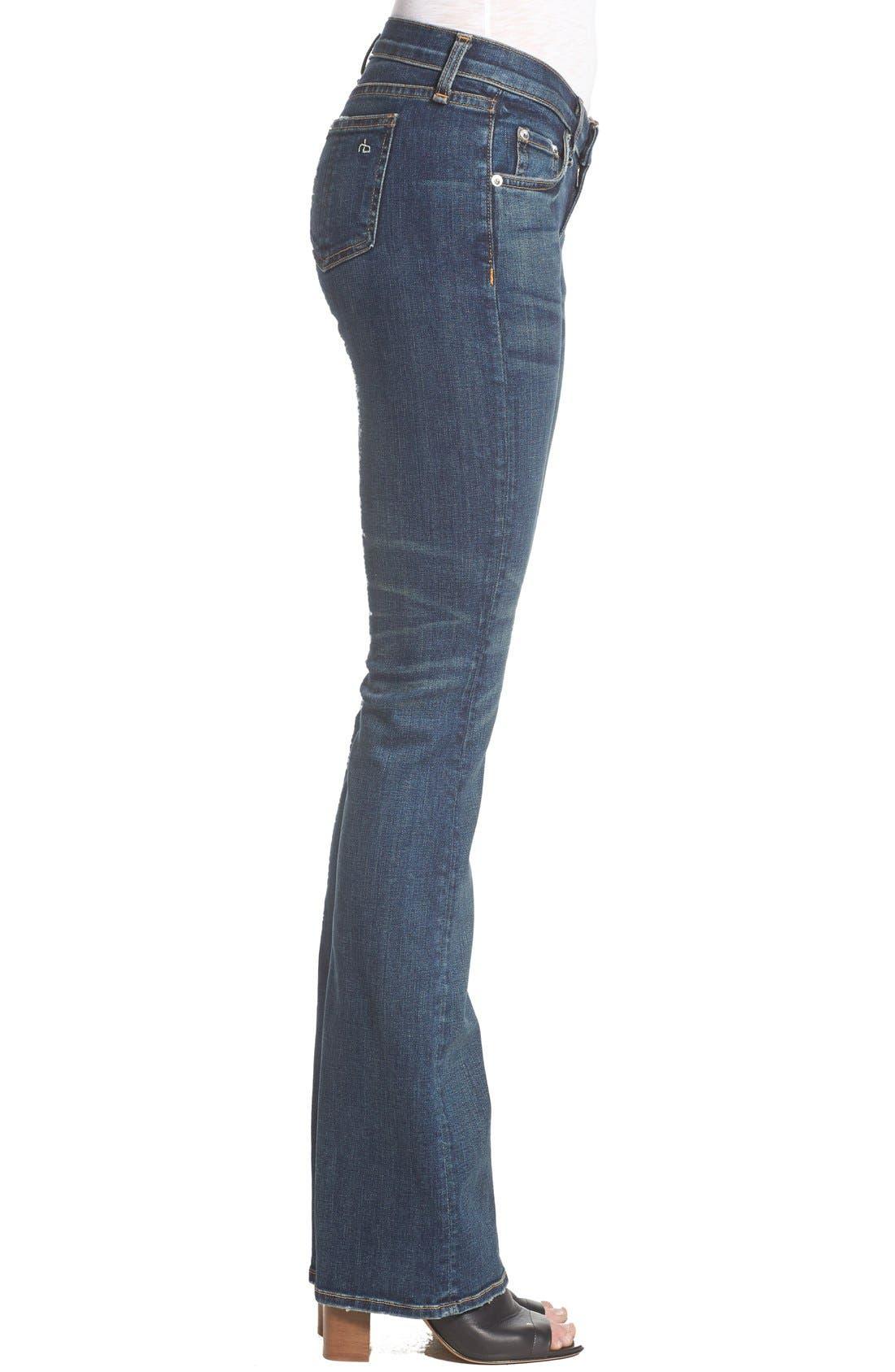 RAG & BONE,                             JEAN Bootcut Jeans,                             Alternate thumbnail 2, color,                             420