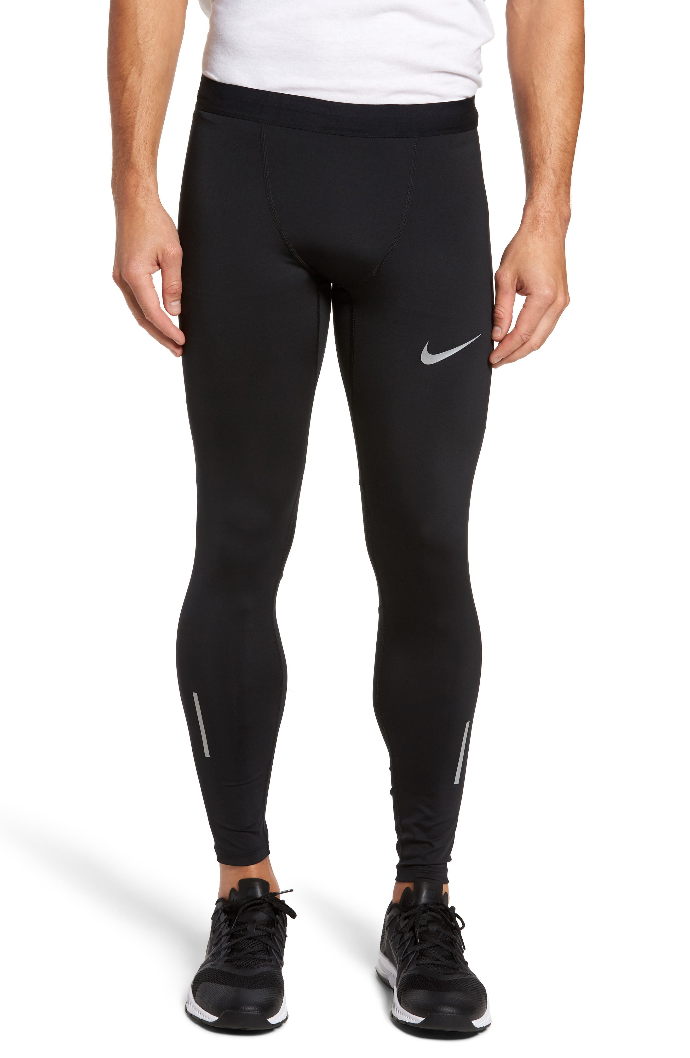 Power Tech Running Tights,                         Main,                         color, 010