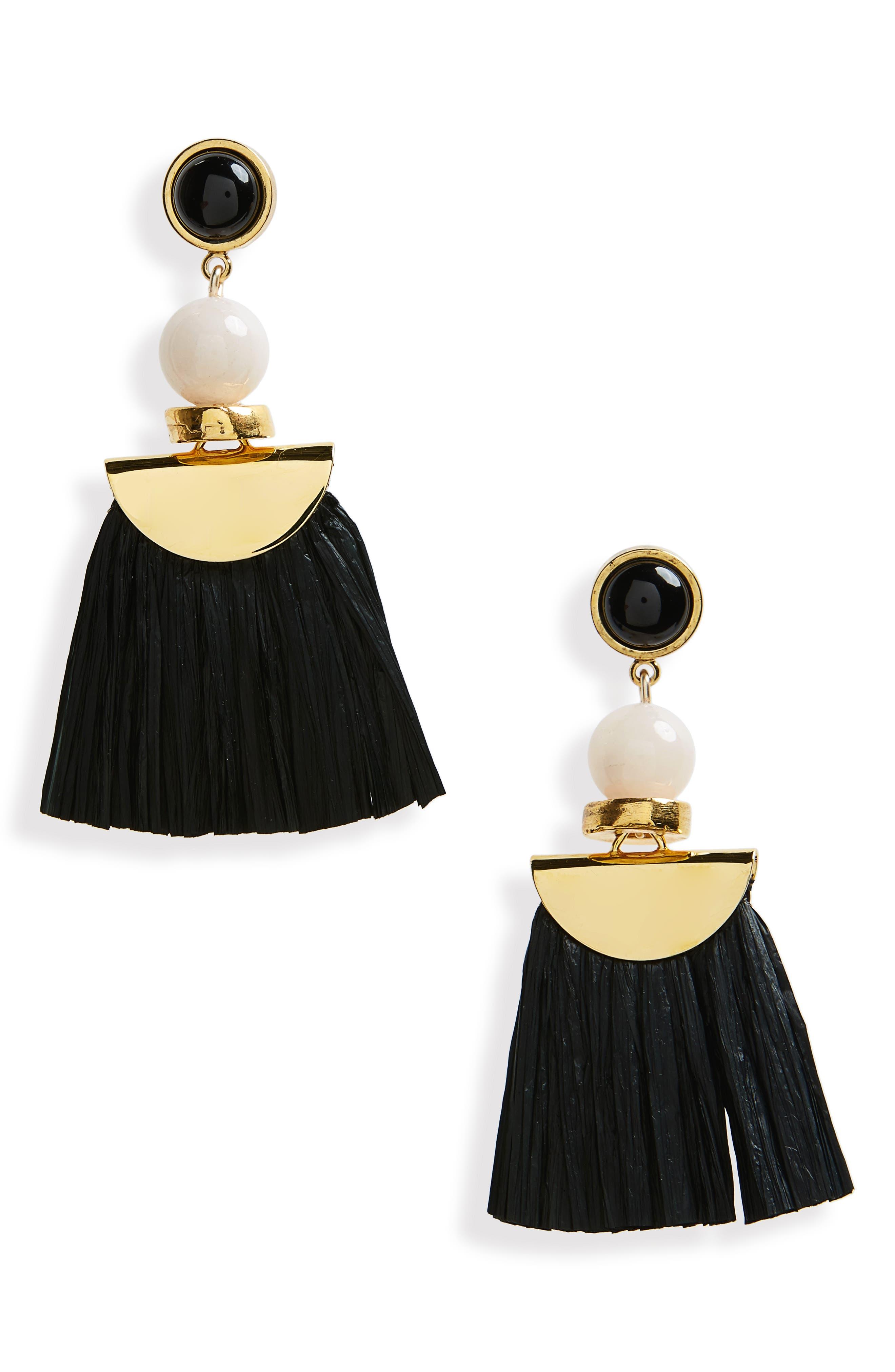 Hula Earrings,                         Main,                         color, 001